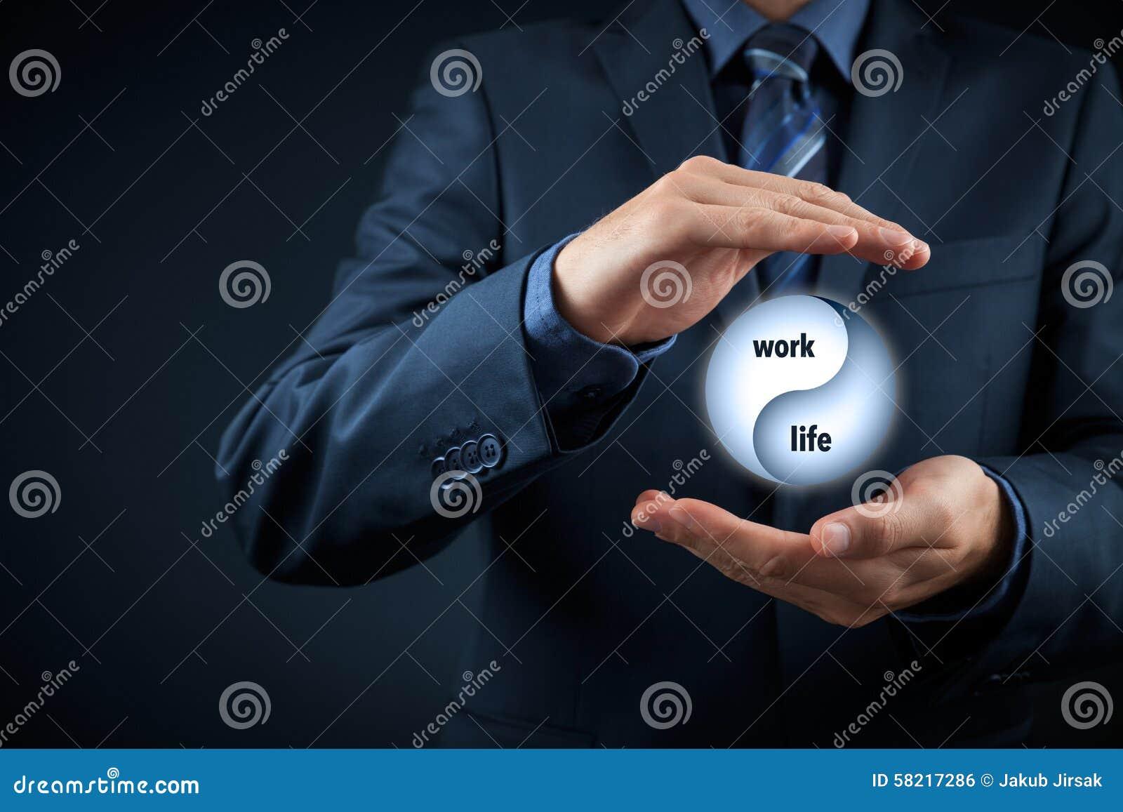 Pracuje życie równowagę