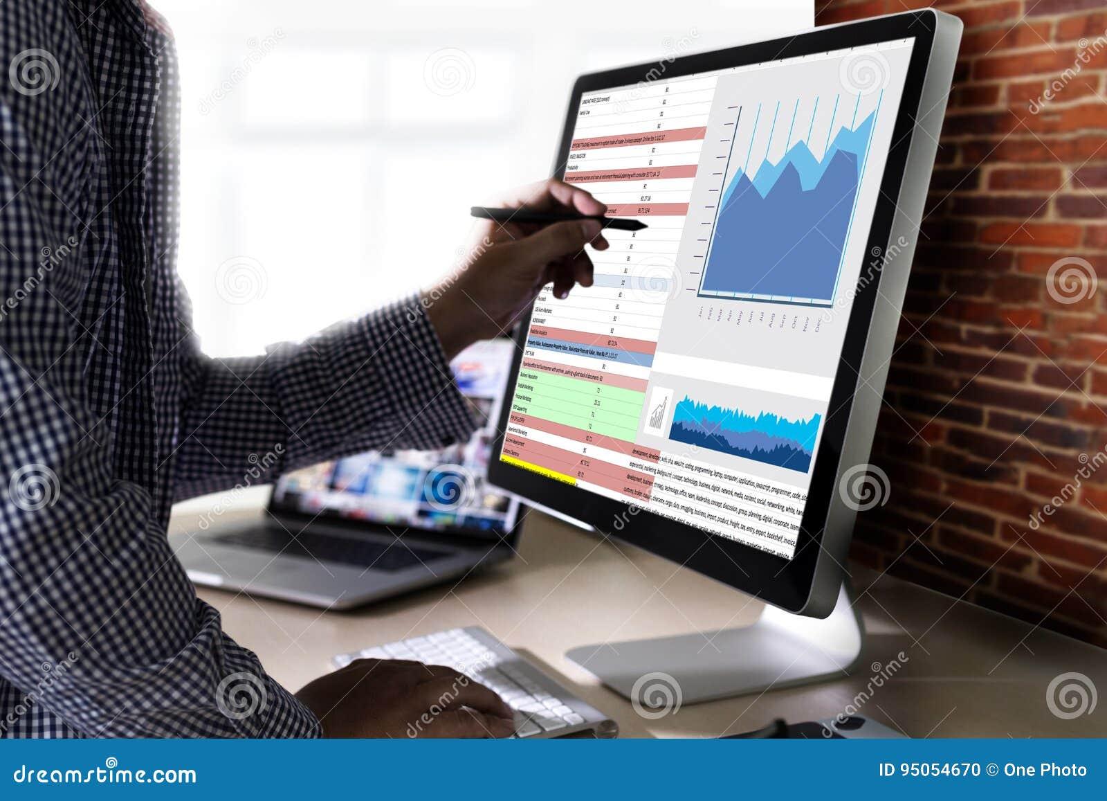 Pracuje ciężkich dane analityka statystyk Ewidencyjnego biznes Technol