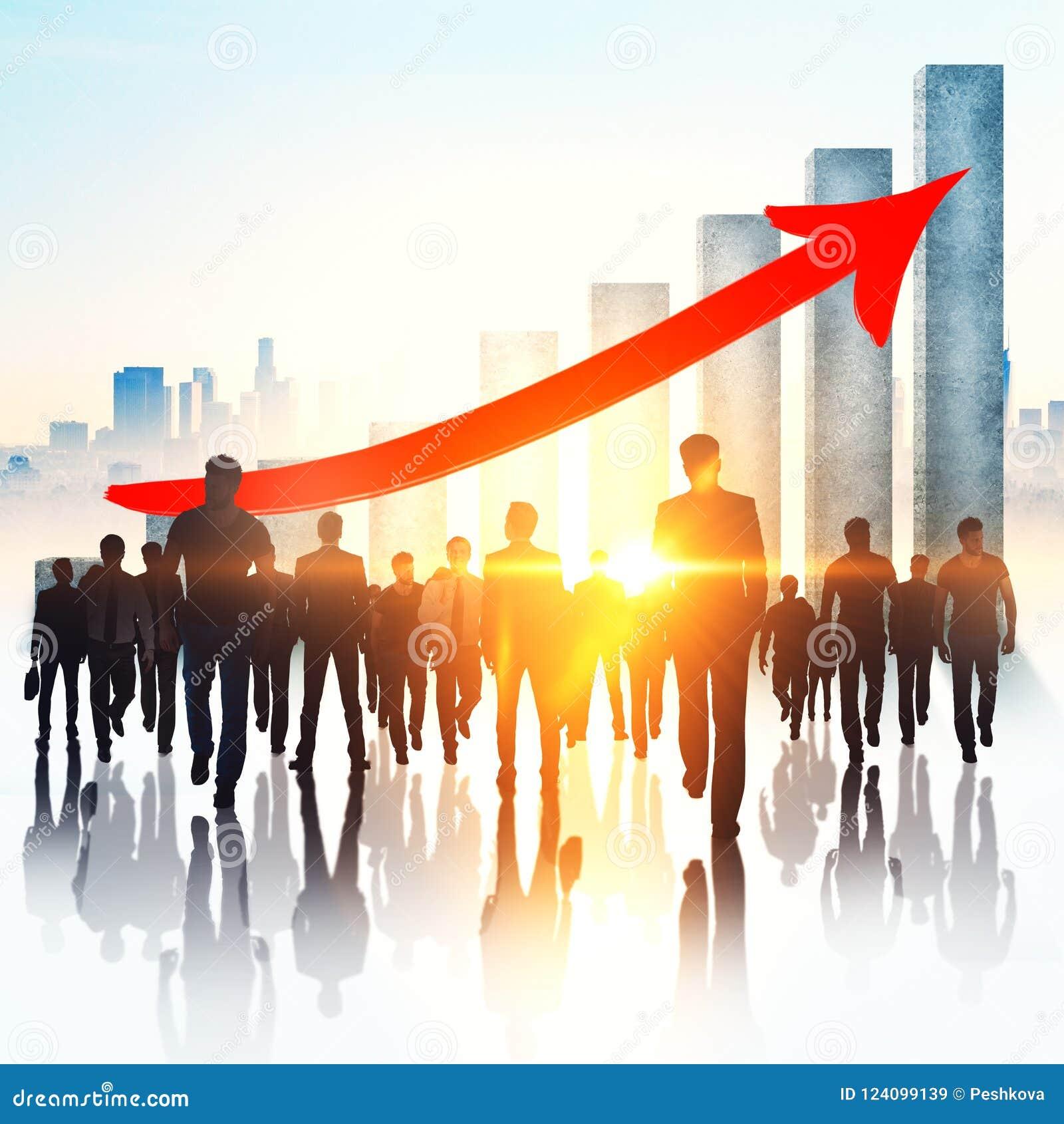 Pracy zespołowej, przyrosta i zatrudnienia pojęcie,