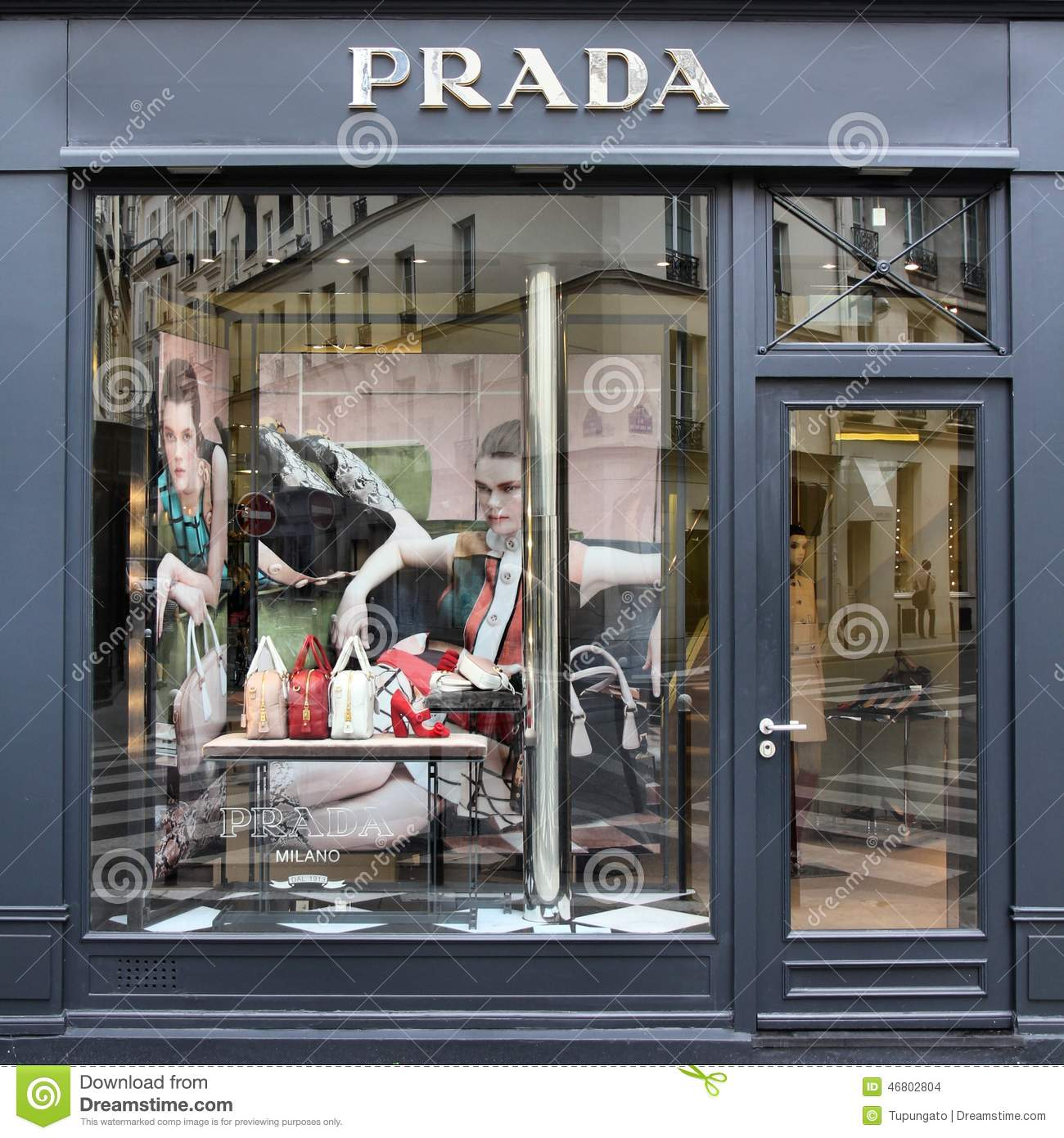 Parisian clothing store
