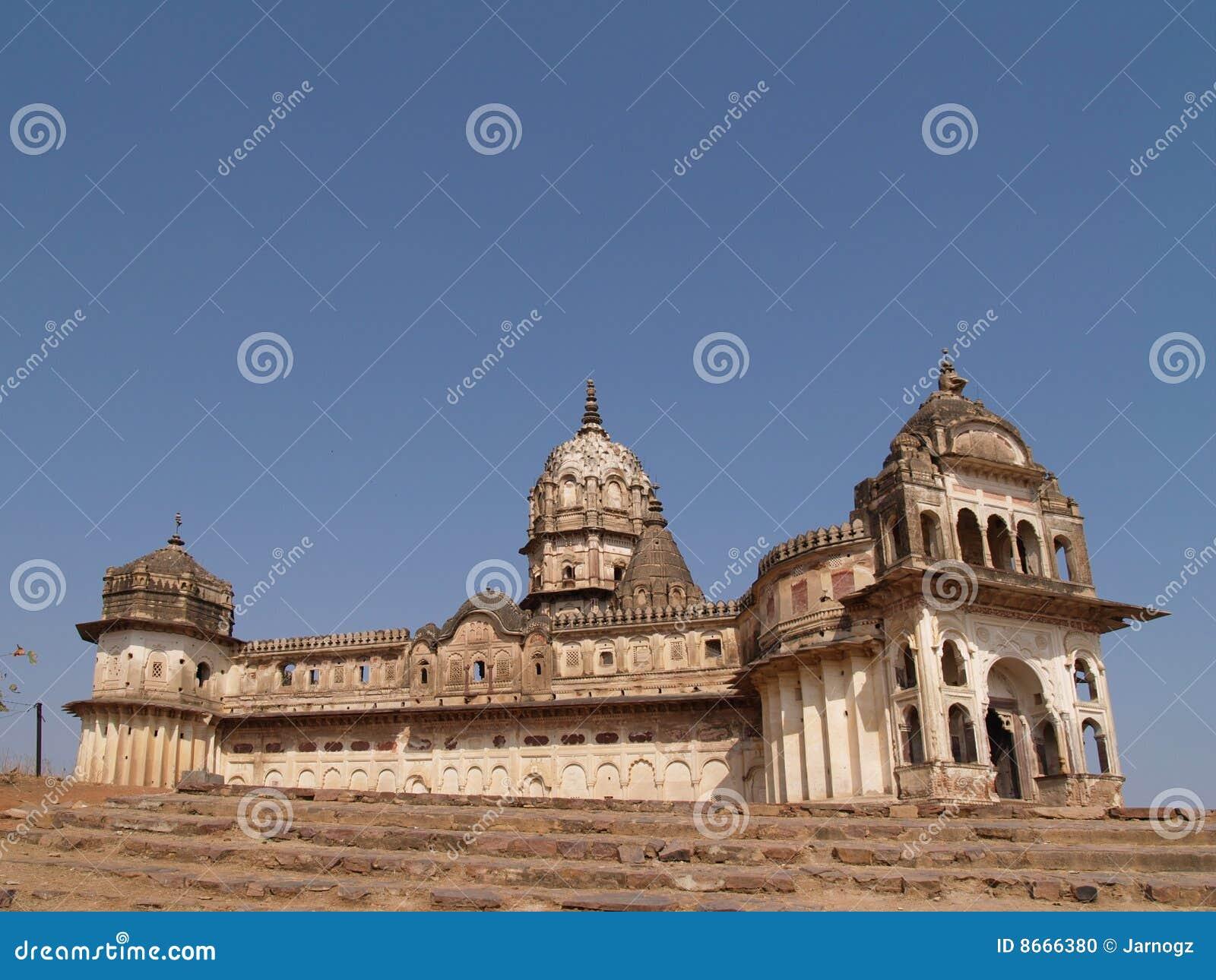 Pradesh de palais d orcha de madhya