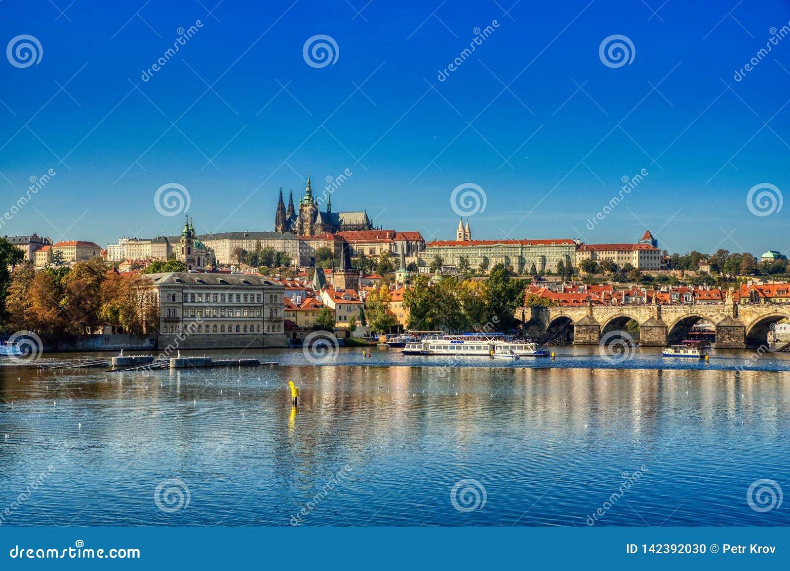 Prag, Ansicht von Prag-Schloss