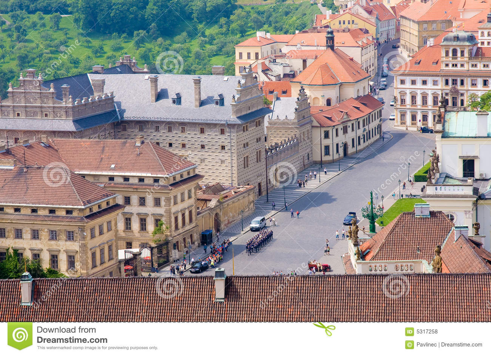 Download Prag storico fotografia stock. Immagine di squadra, limite - 5317258