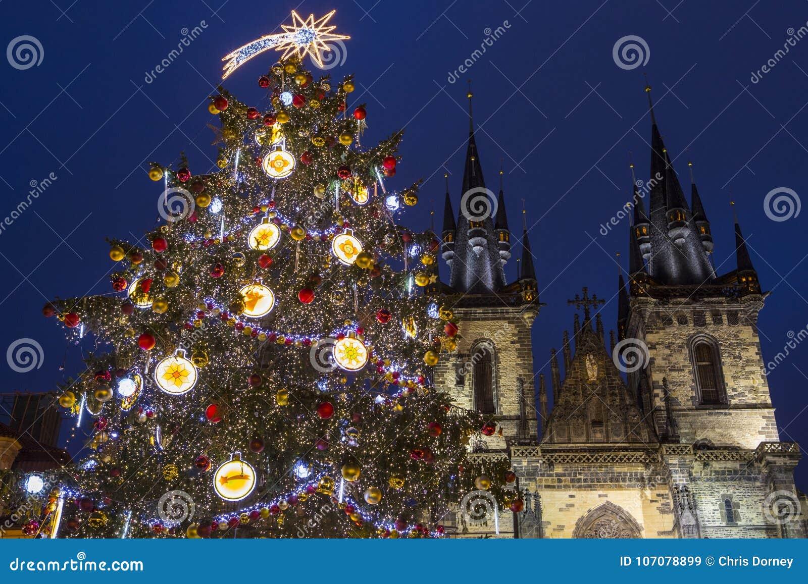 Praga en la Navidad