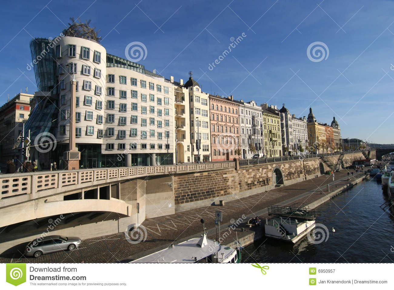Prague Apartments stock image. Image of luxury, cityscape ...
