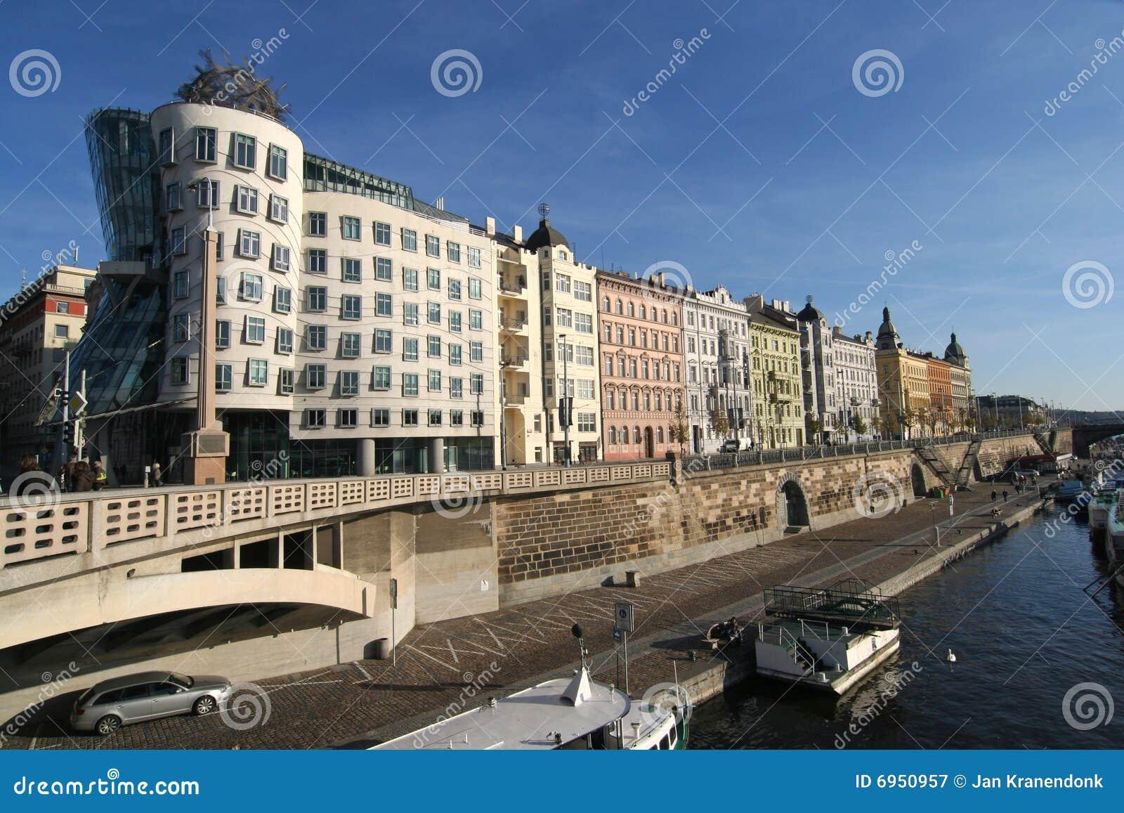 Prague Apartments stock image. Image of luxury, cityscape ...
