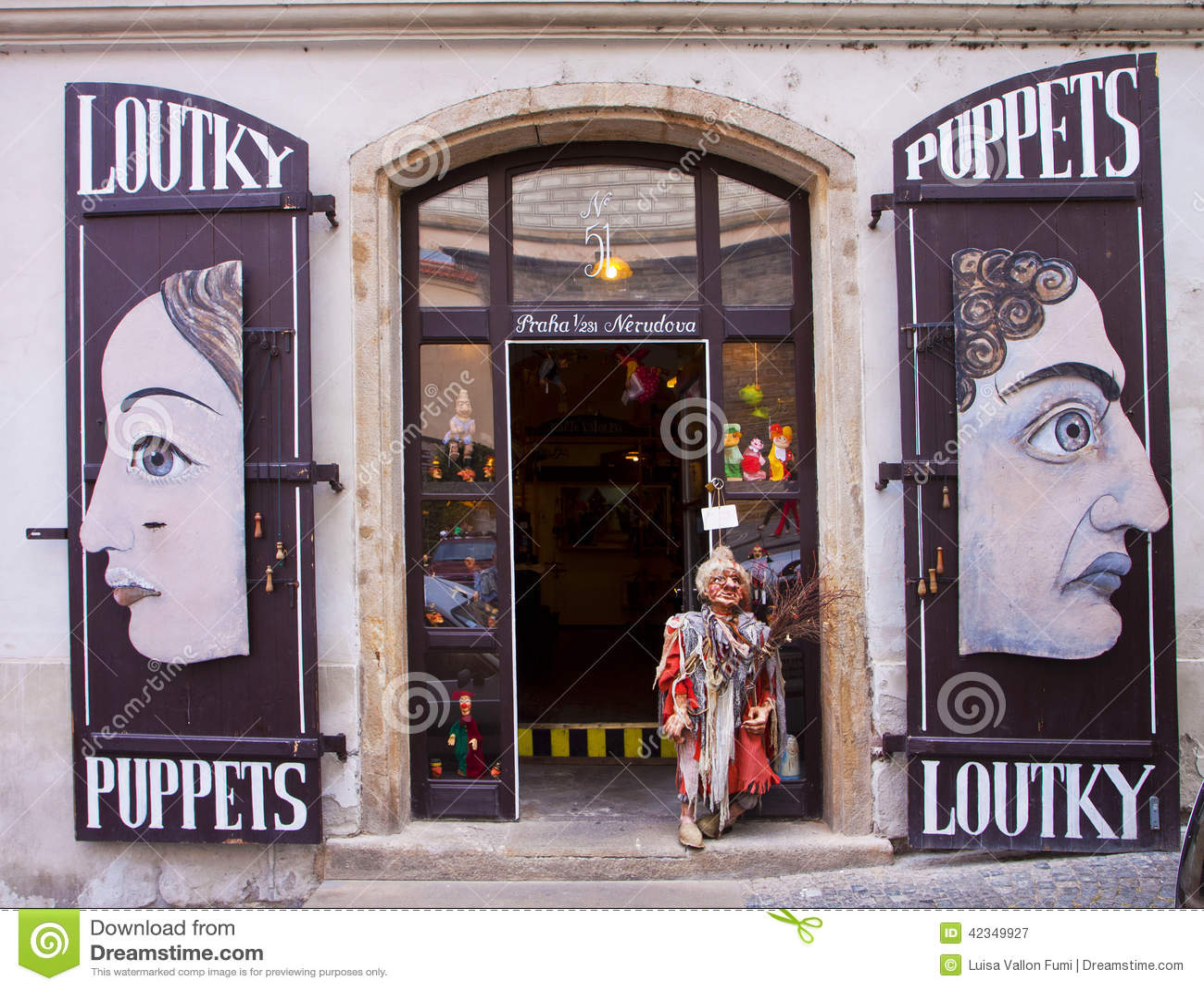 Prague boutique de marionnette photographie ditorial for Prague boutique