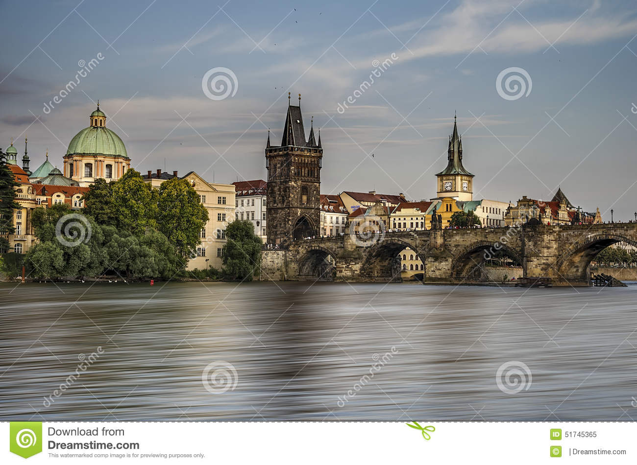 Prague stock photo image 51745365 for Where is prague near