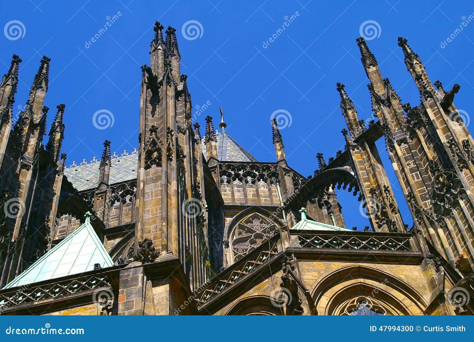 Prague castle cathedral Czech Republic