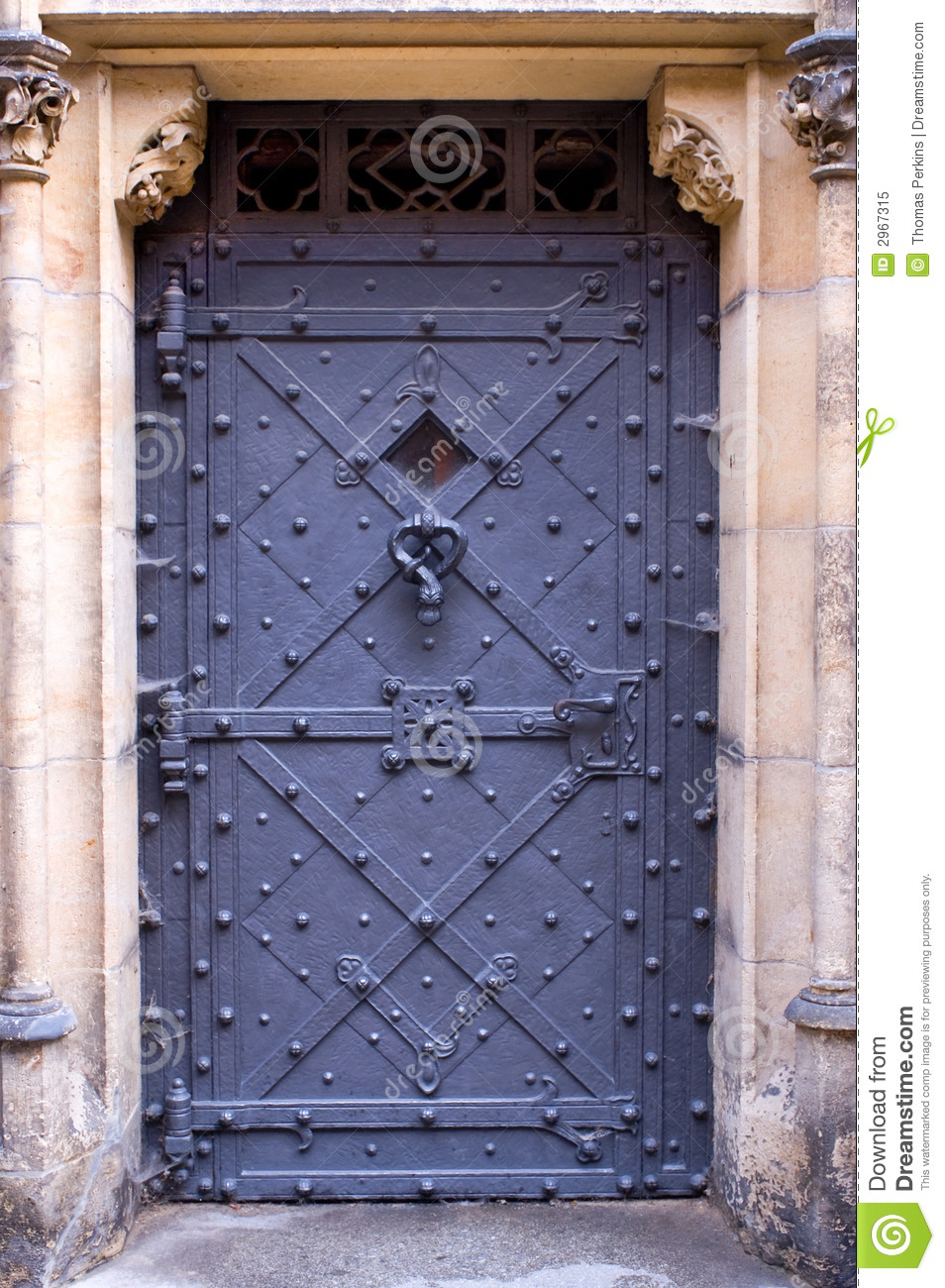 Prague castle door royalty free stock photo image 2967315 for Door z prague