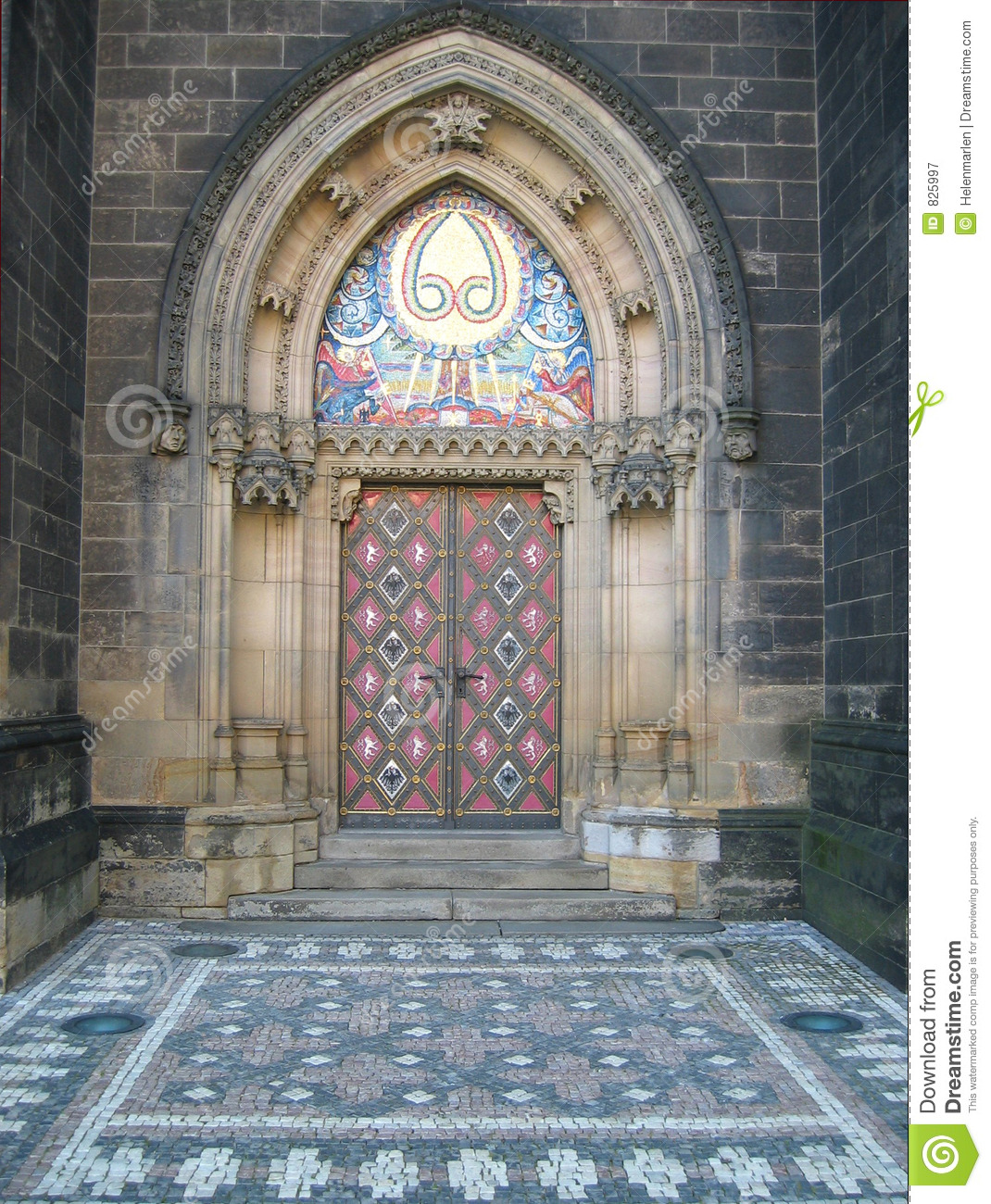 Prague Cathedral Door