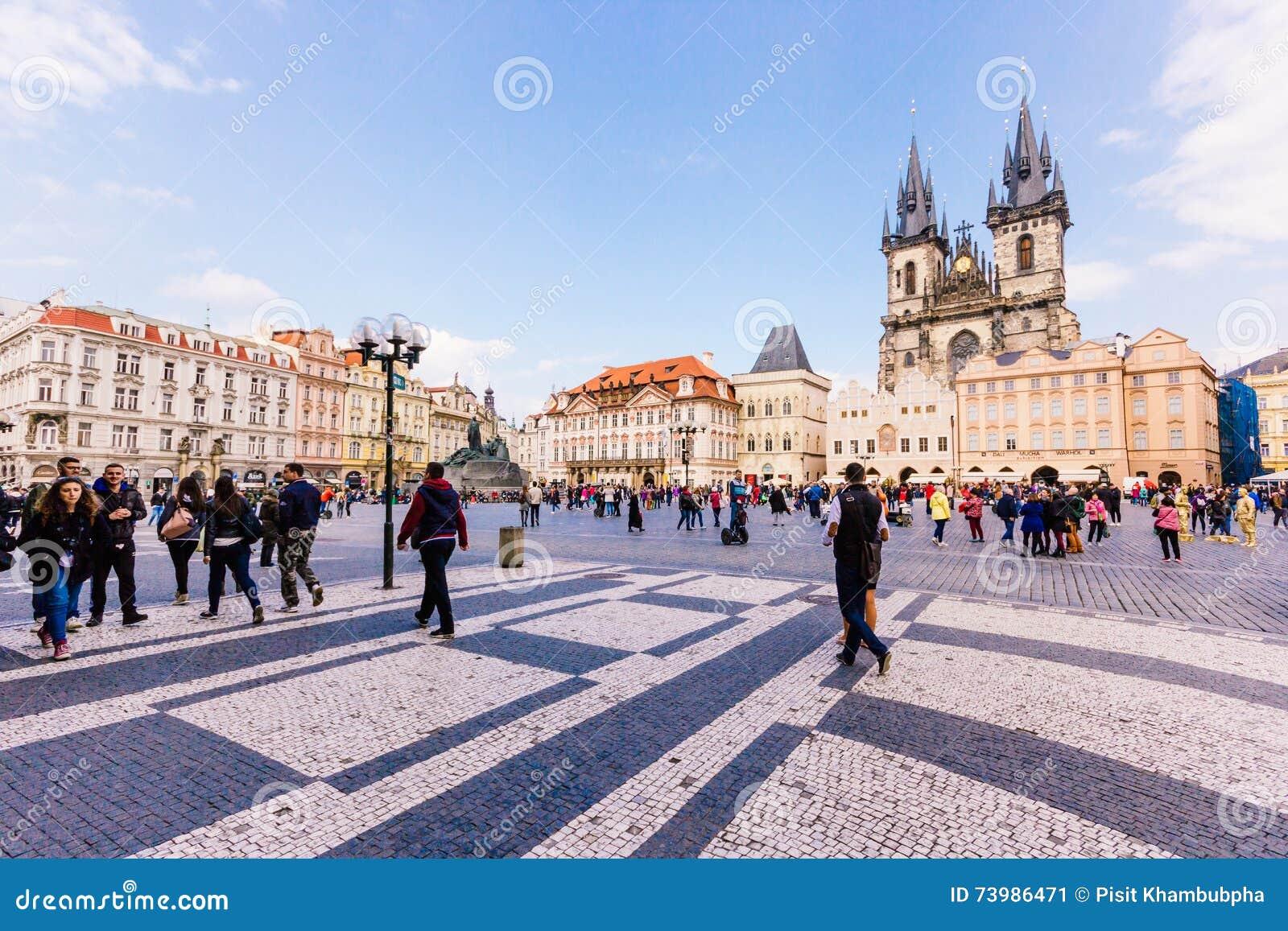 Prague czech republic april 15 2016 church of our for Prague center