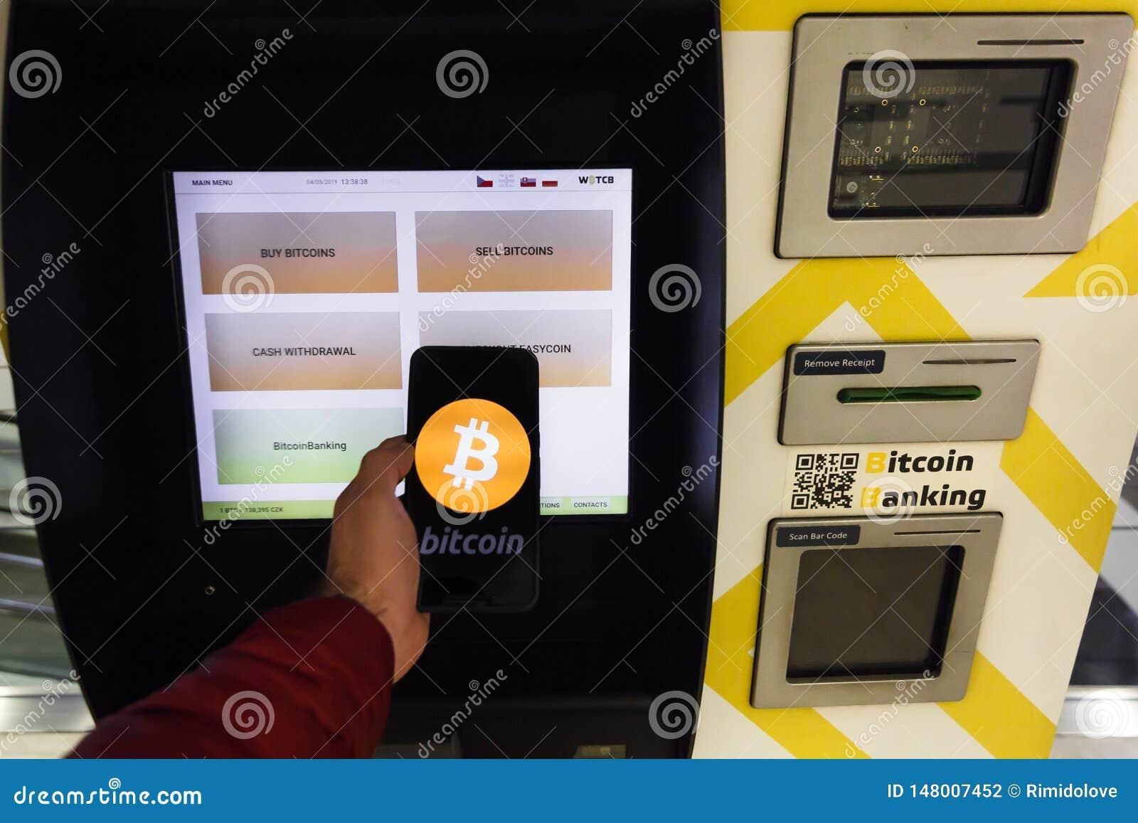 bitcoin atm prague)