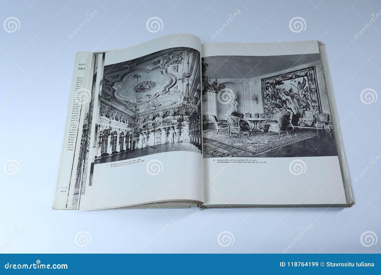 Livre Architecture D Intérieur prague dans le livre d'images par karel plicka architecture