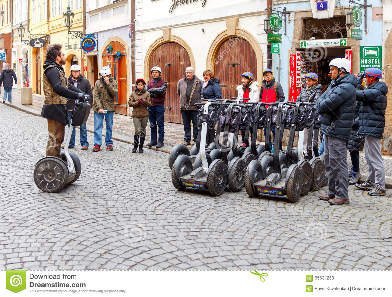Prague Excursion de Segway