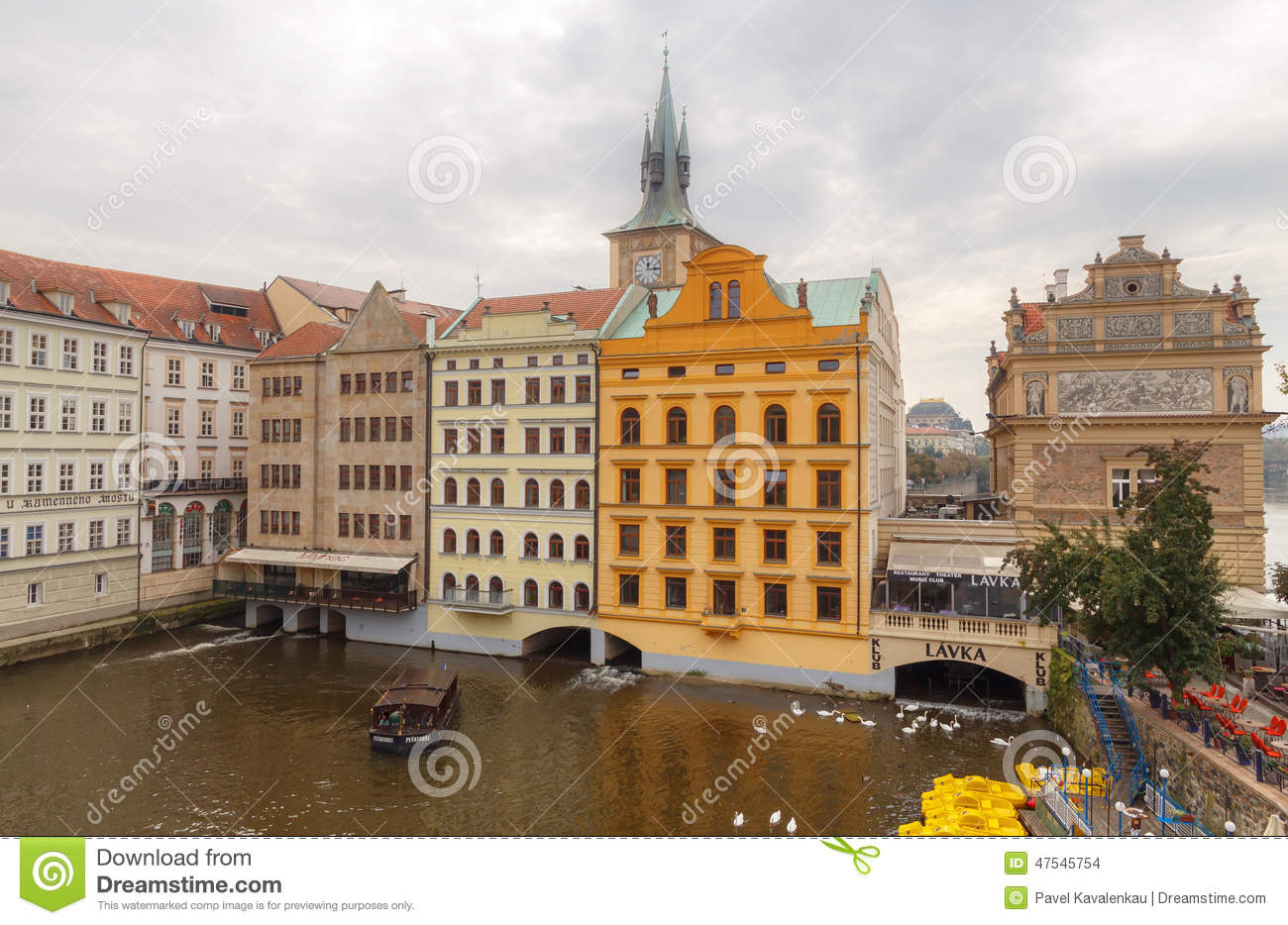 Prague old place editorial stock image image 47545754 for Where is prague near