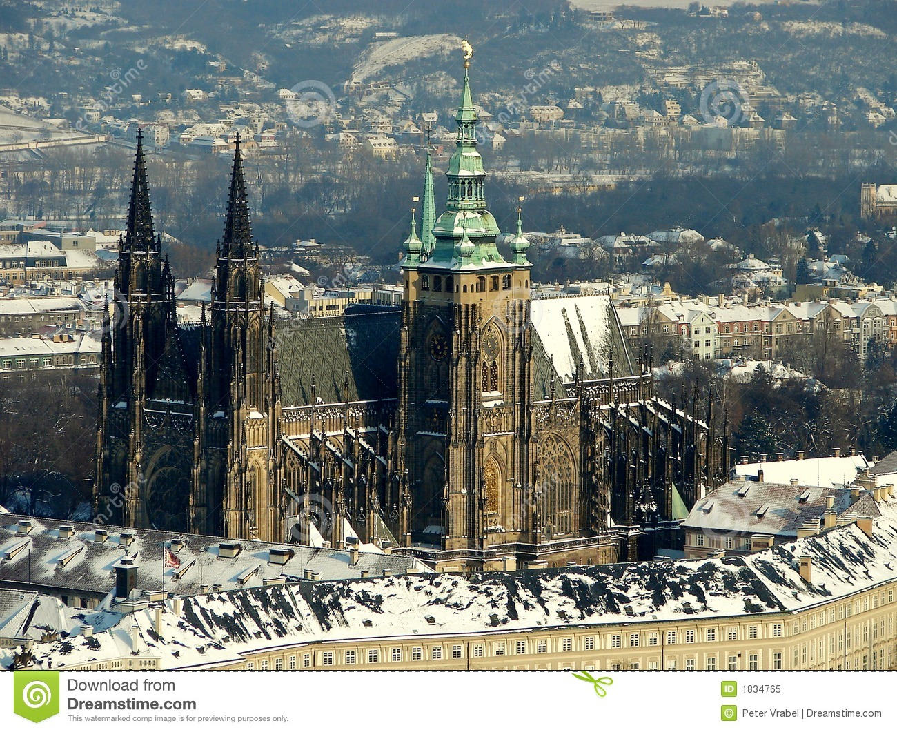 Praha - Castle Royalty Free Stock Photo - Image: 1834765