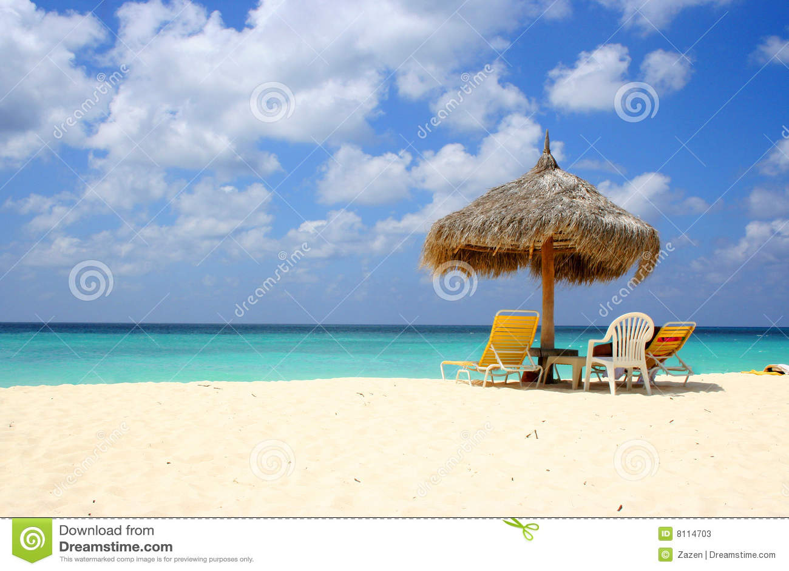 Praia Aruba da águia