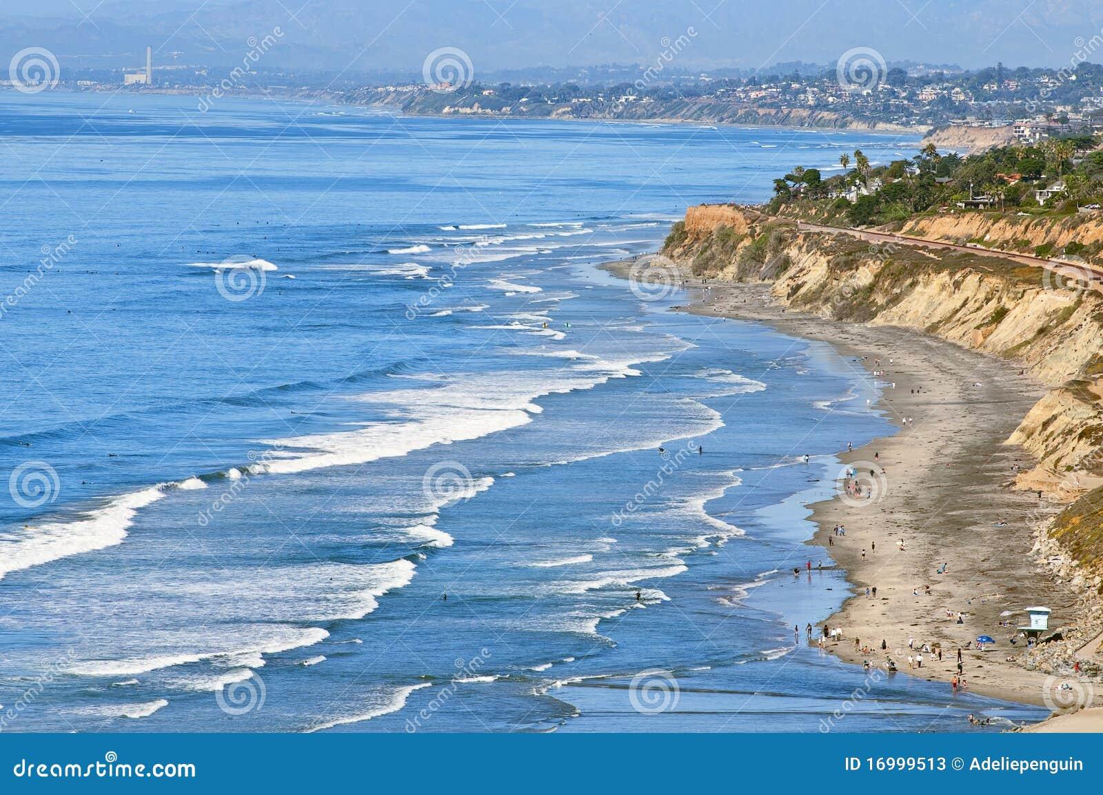 Praia californiana do sul
