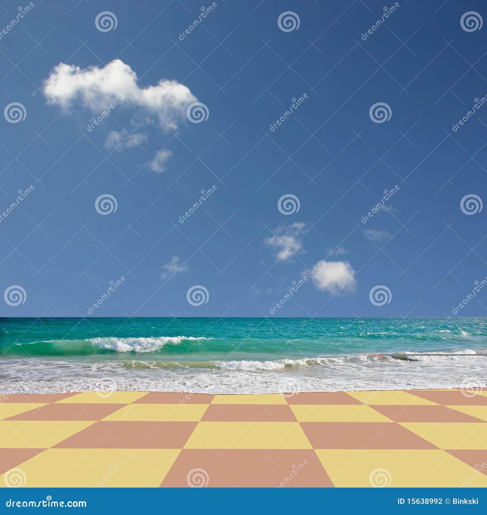 Praia Checkered