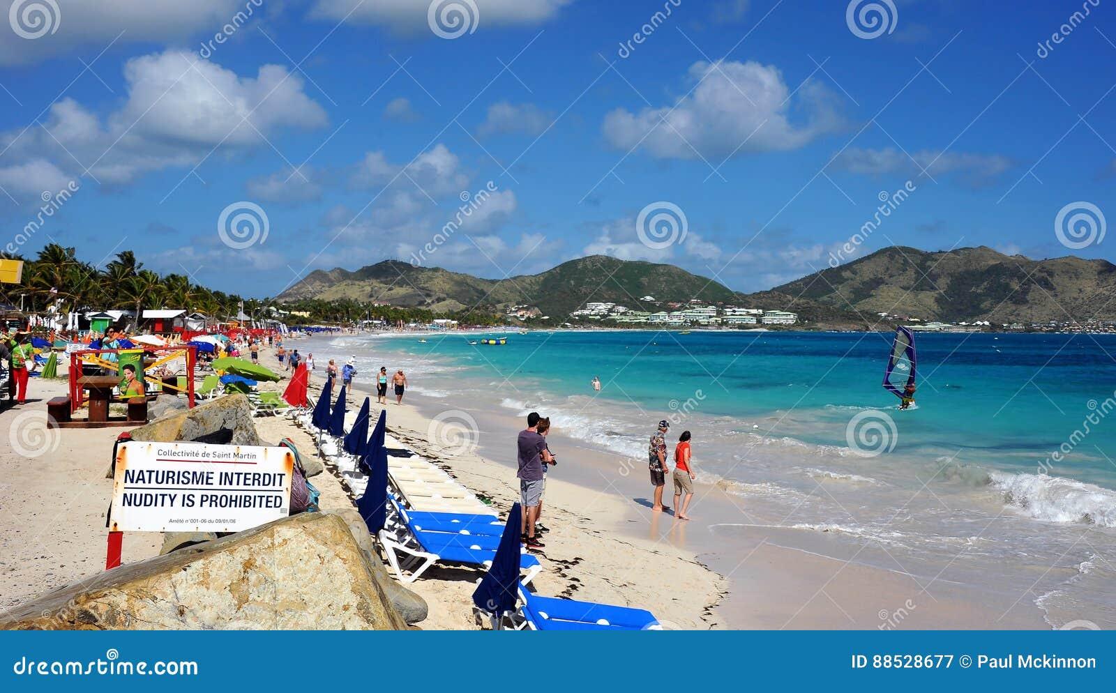 Praia da baía de Oriente