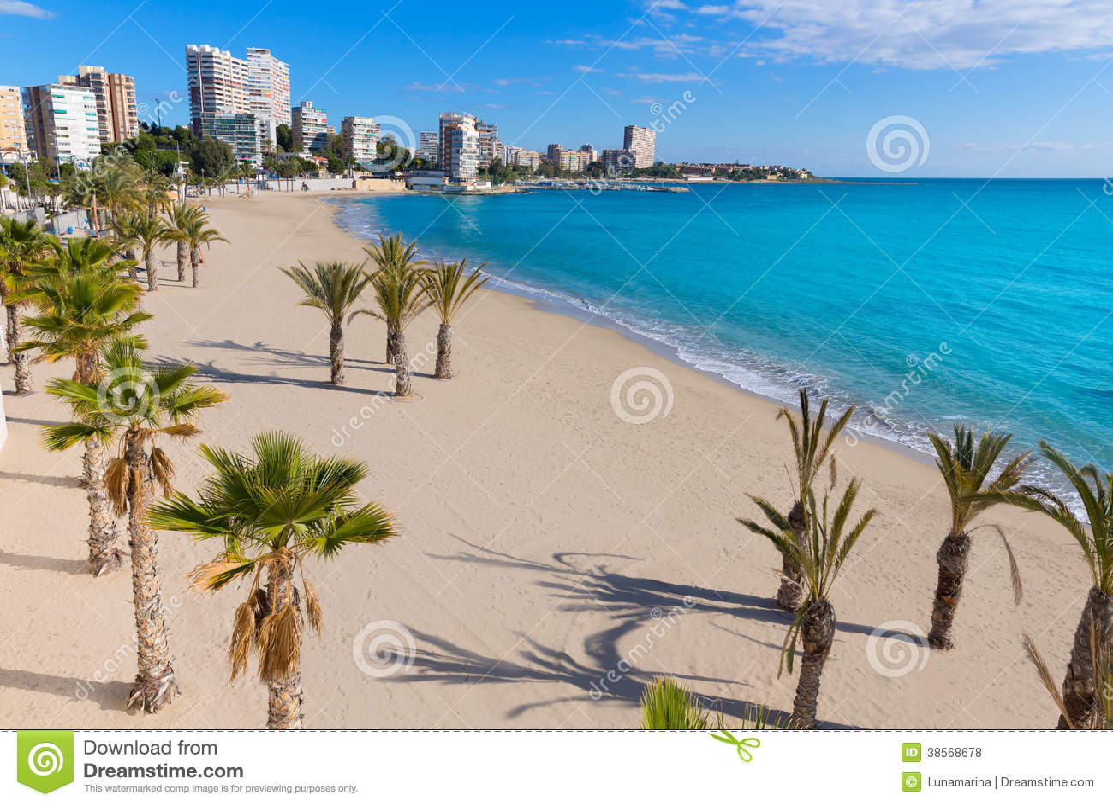 Praia de Alicante San Juan do La Albufereta