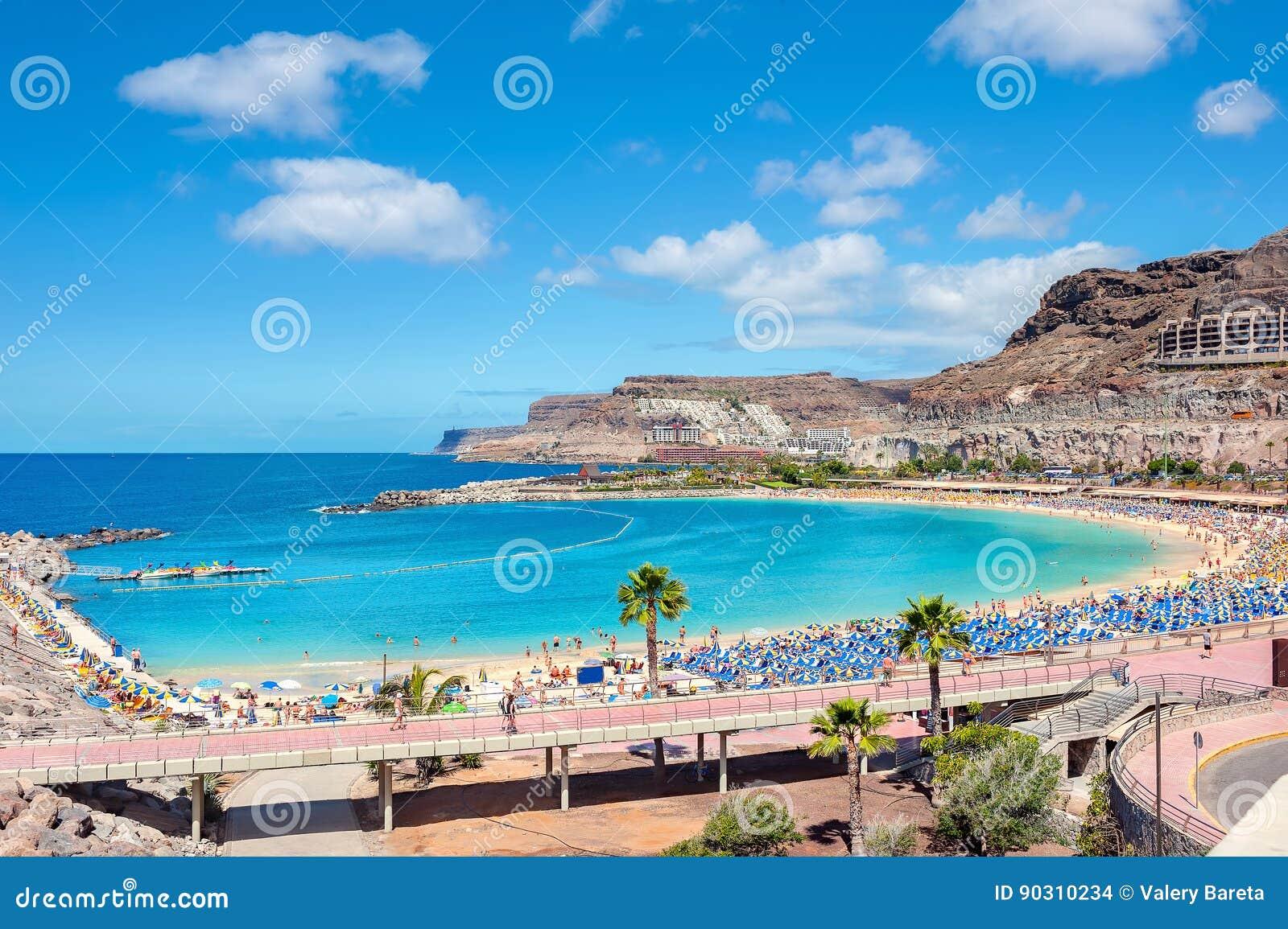 Praia de Amadores Gran Canaria, Ilhas Canárias, Espanha