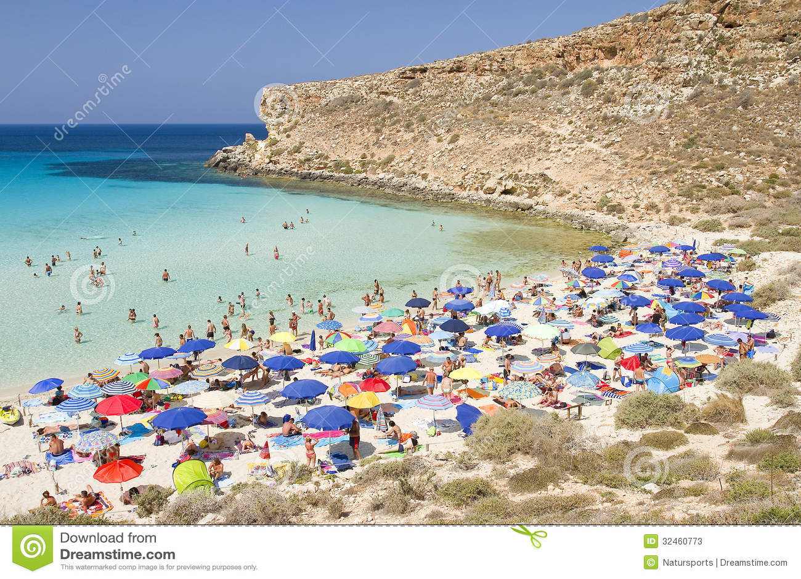 Praia de Conigli, Lampedusa
