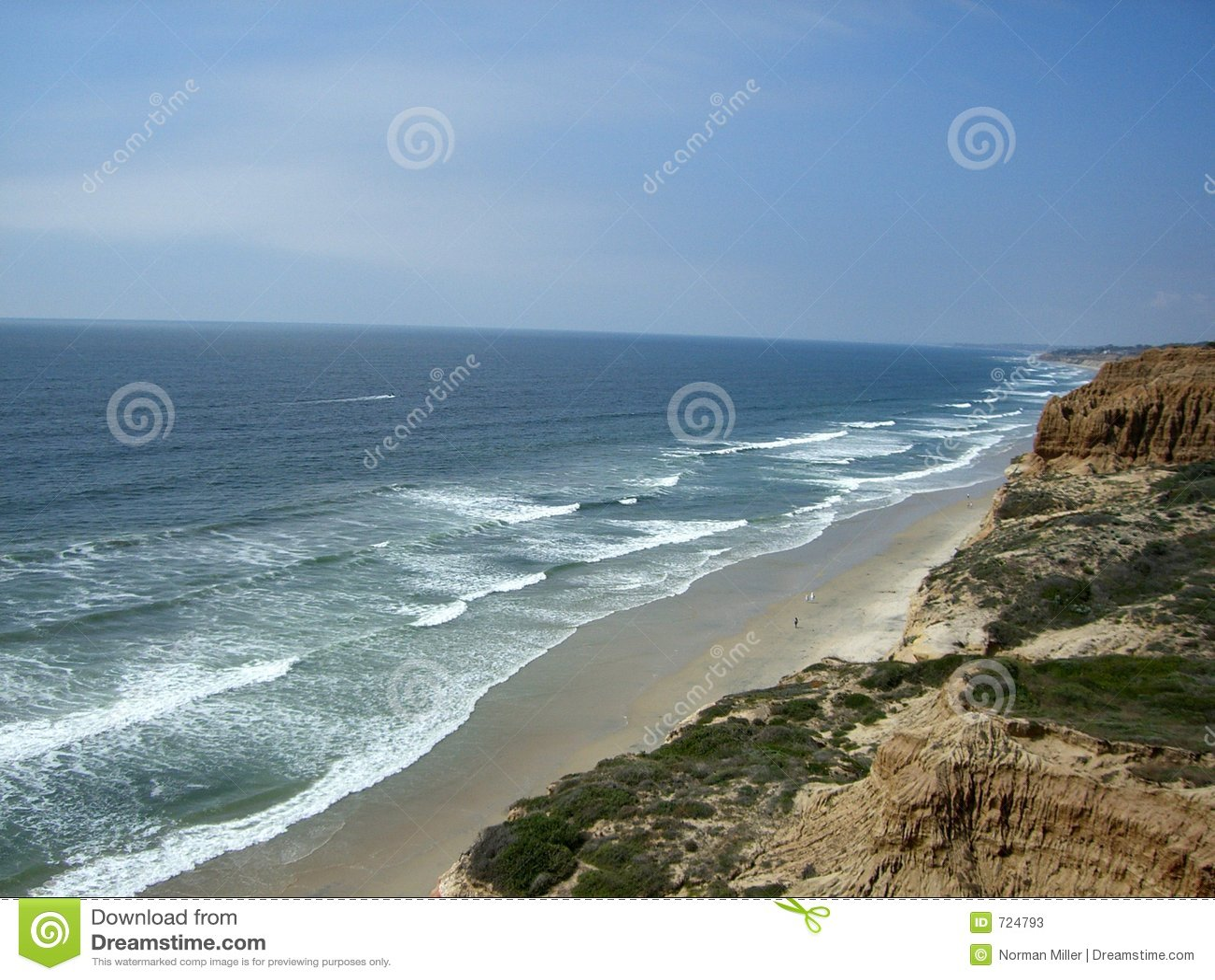 Praia de estado dos pinhos de Torrey