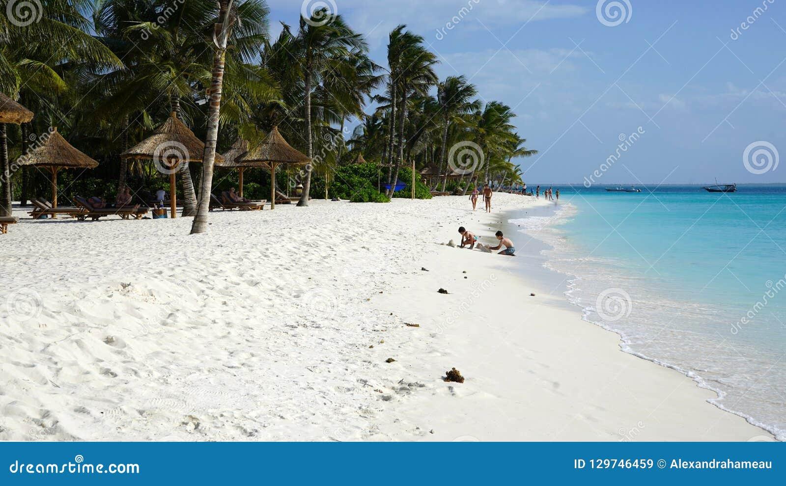 Praia de Kendwa, Zanzibar