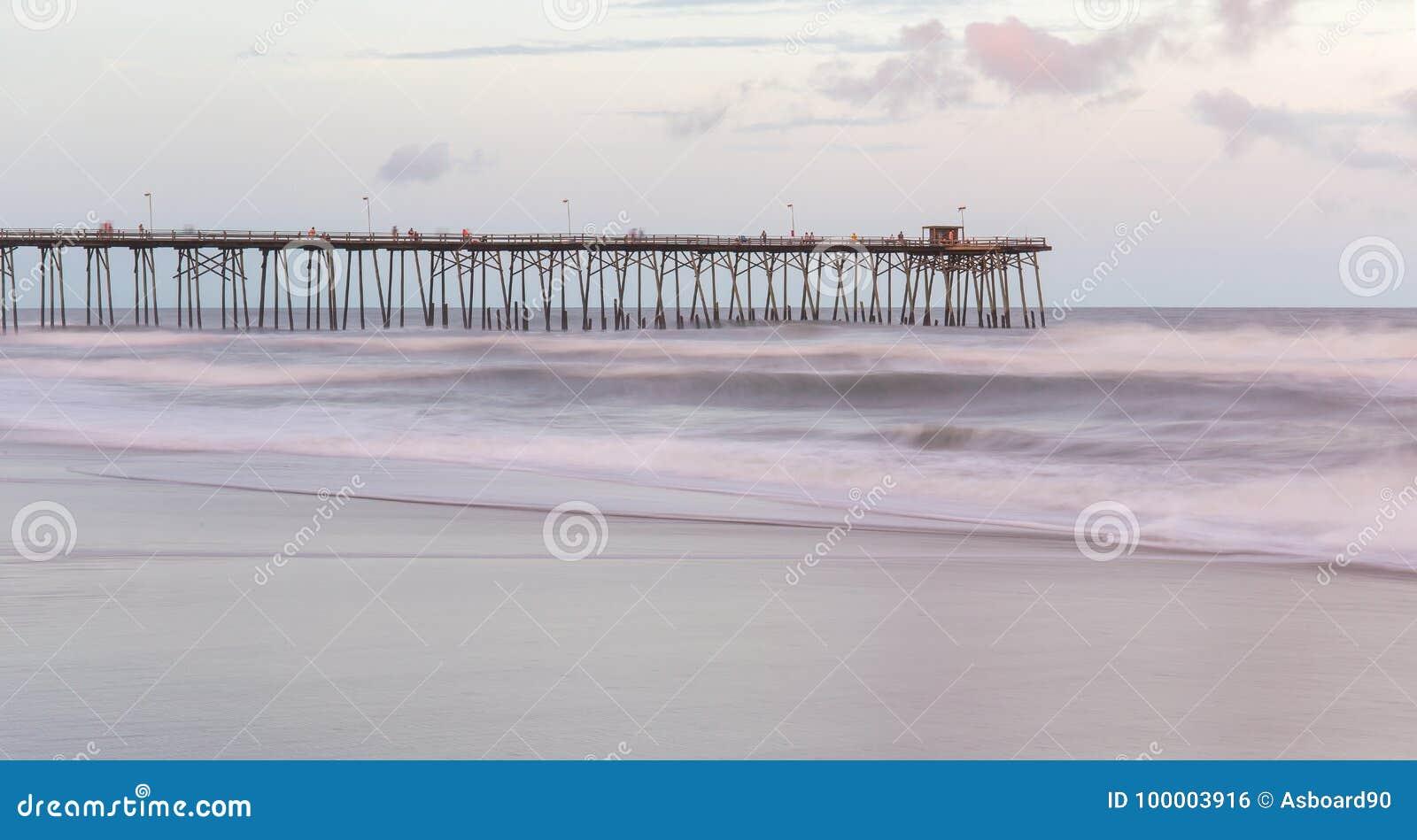 Praia de Kure, North Carolina