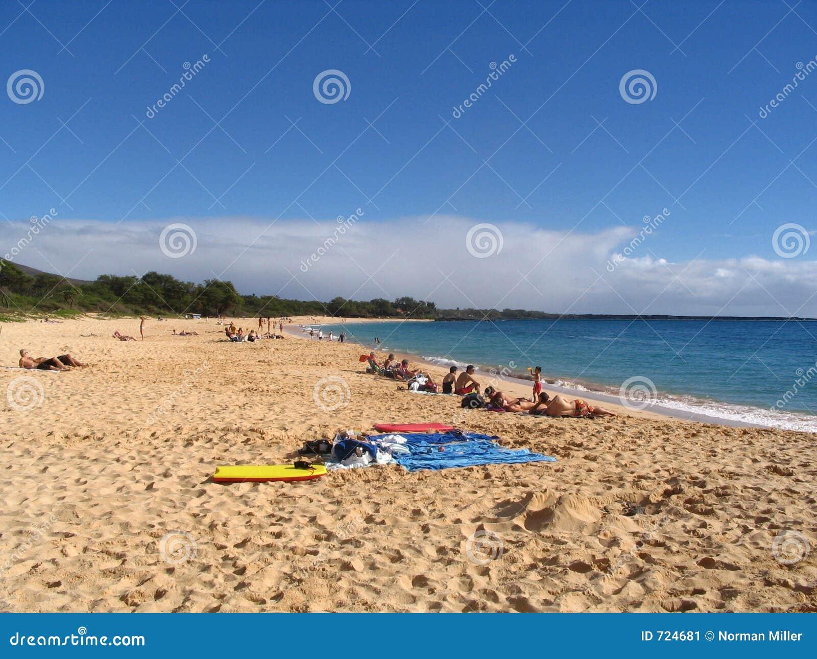 Praia de Makena - Maui, Havaí