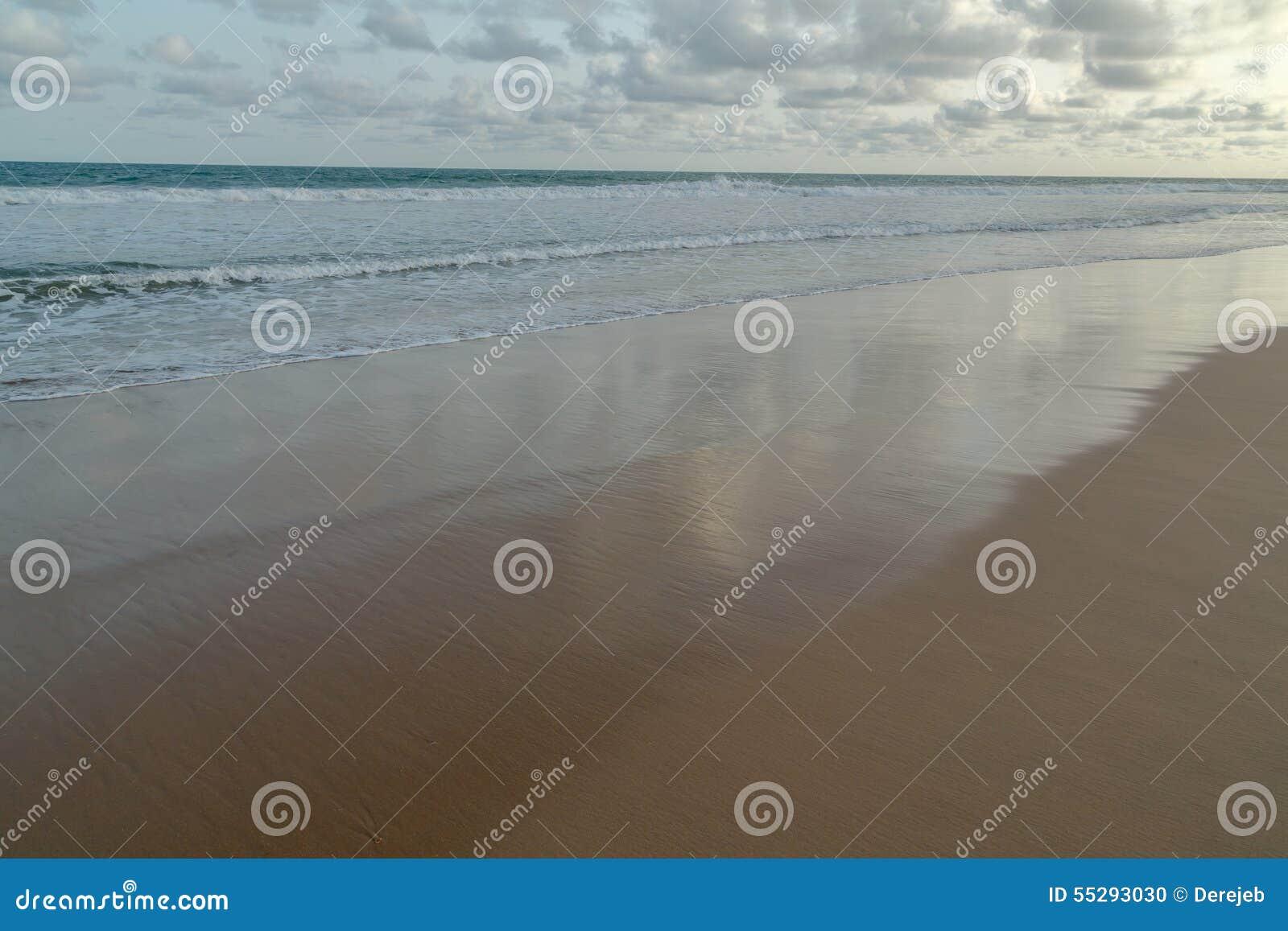Praia de Obama em Cotonou, Benin