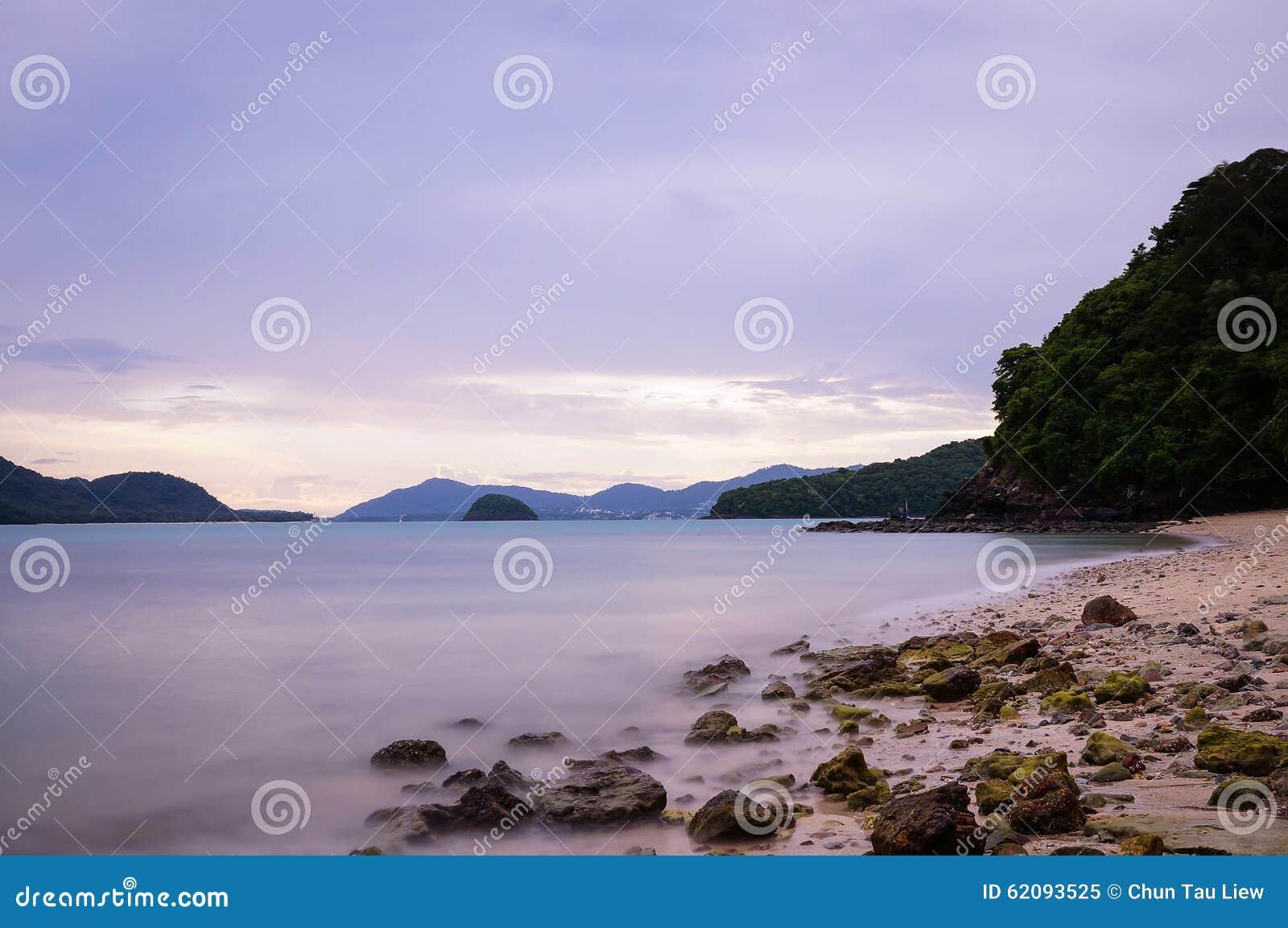 Praia de Panwa do cabo