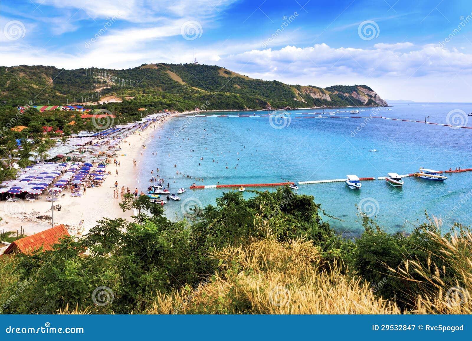 Praia de Samae no Lan do Koh