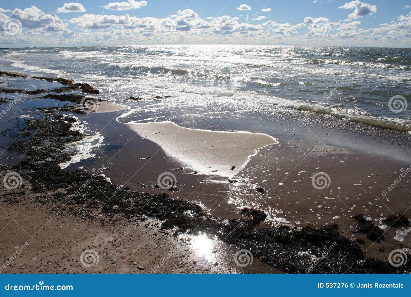 Praia do outono