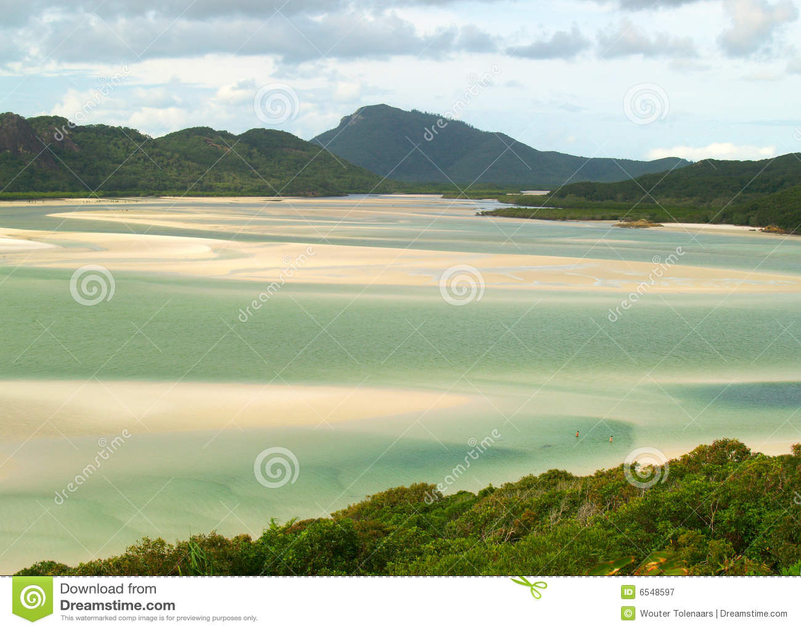 Praia do paraíso em Austrália