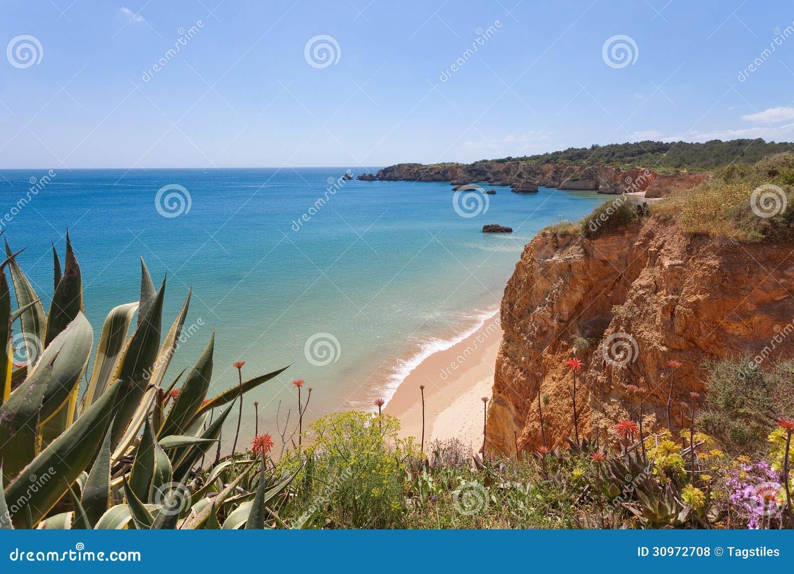 Download Praia doVau stockfoto. Bild von idyll, paradies, idyllisch - 30972708