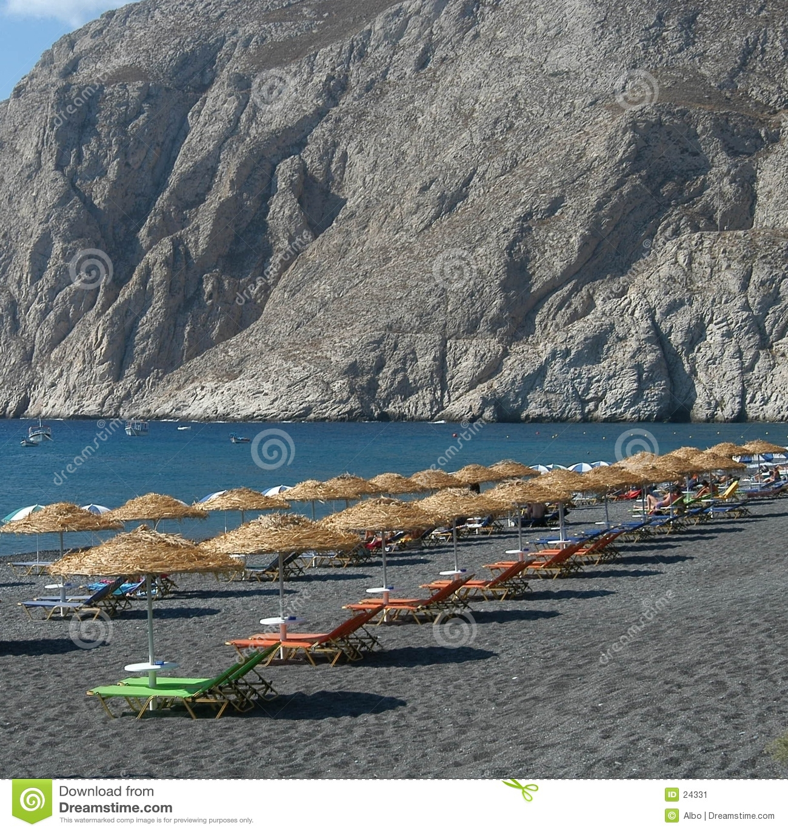 Praia grega