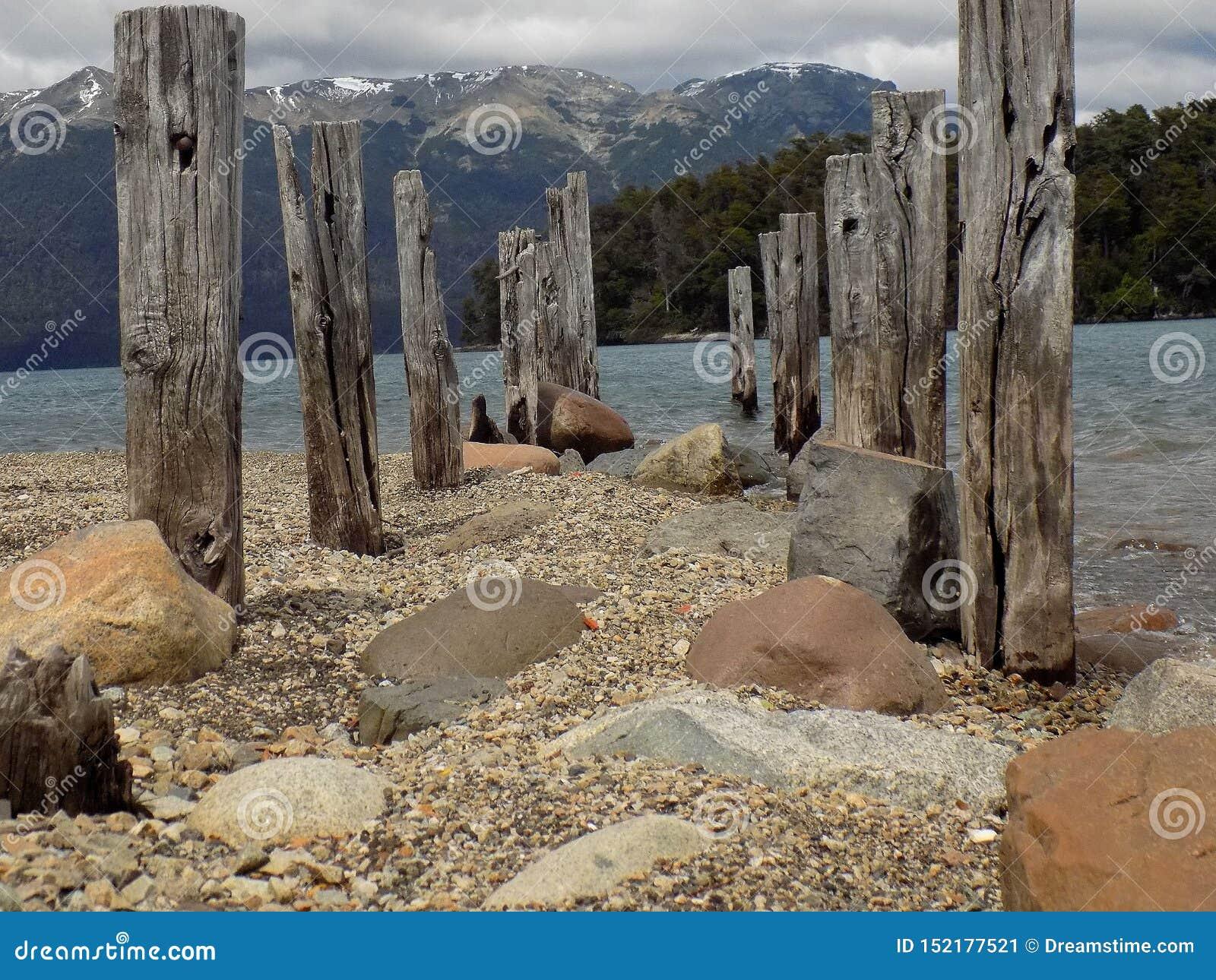 Praia no patagonia