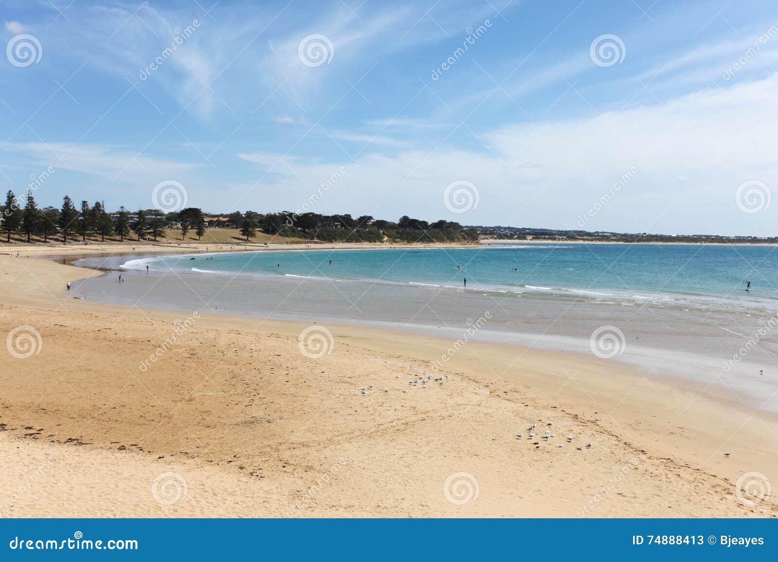 Praia principal de Torquay - Torquay Victoria Australia