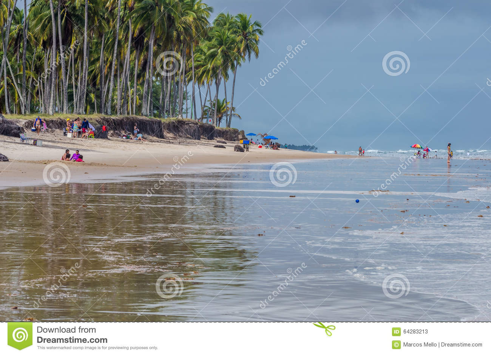 Praia robi Paiva Pernambuco, Brazylia, -