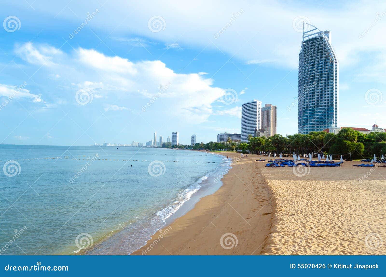 Praia Tailândia de Pattaya