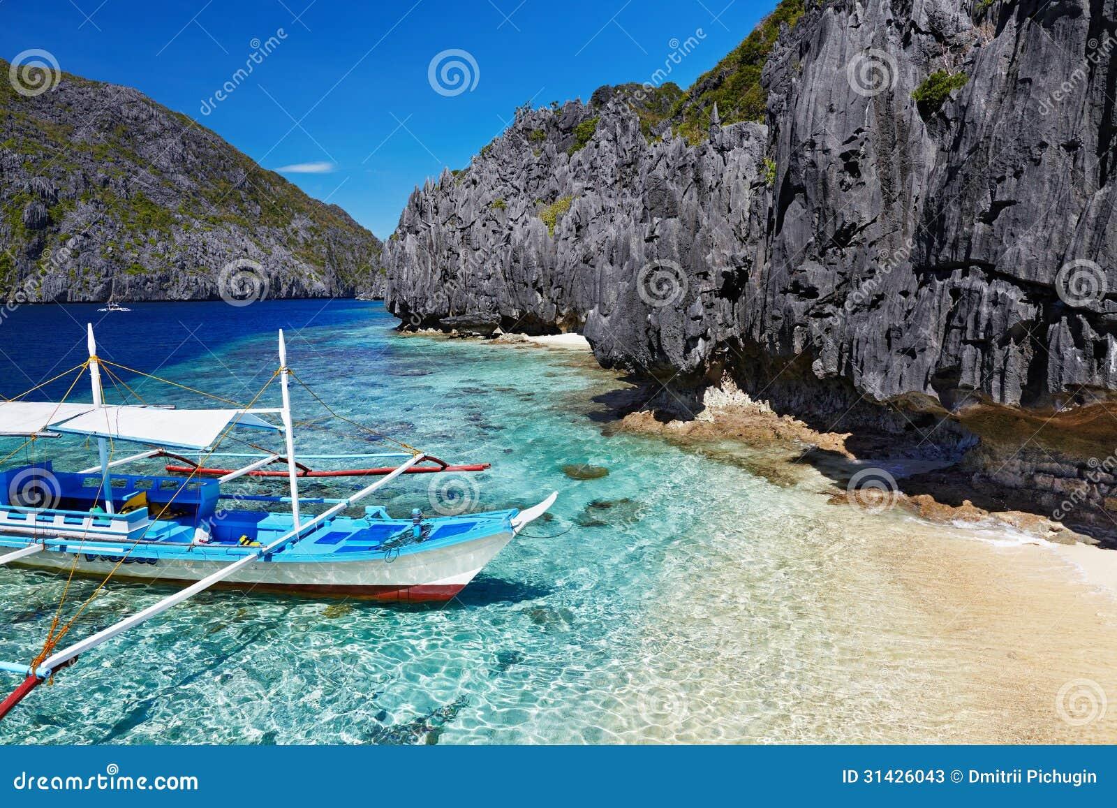 Praia tropical, Filipinas