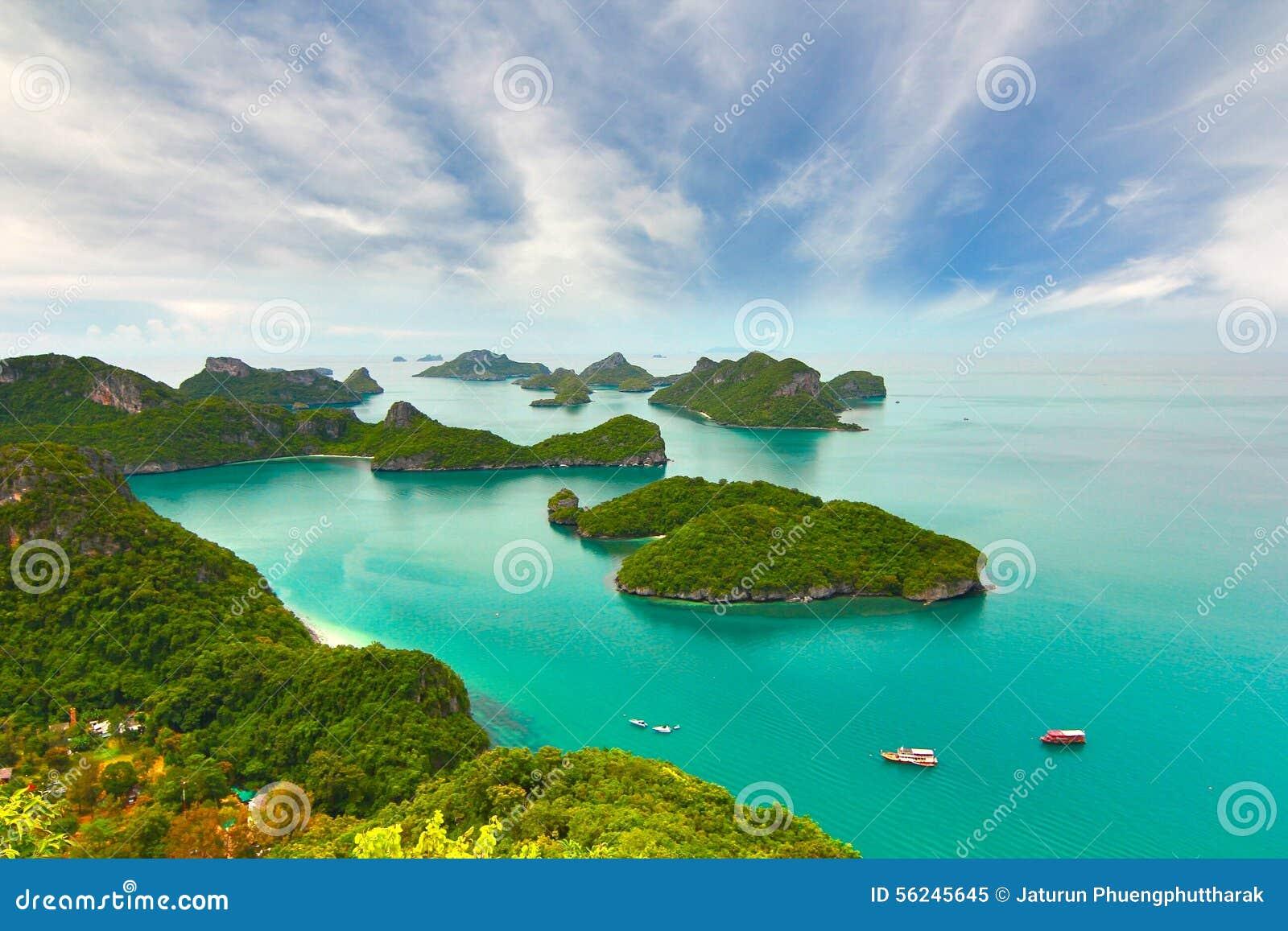 Praia tropical - Langkawi Koh Samui, Tailândia