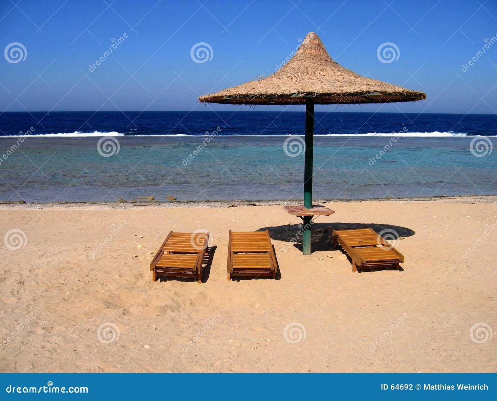 Praia vazia