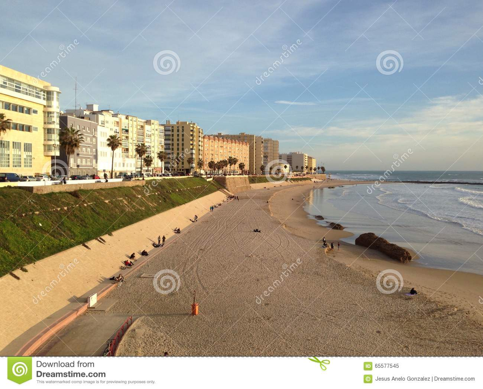 Praias amarelas da areia