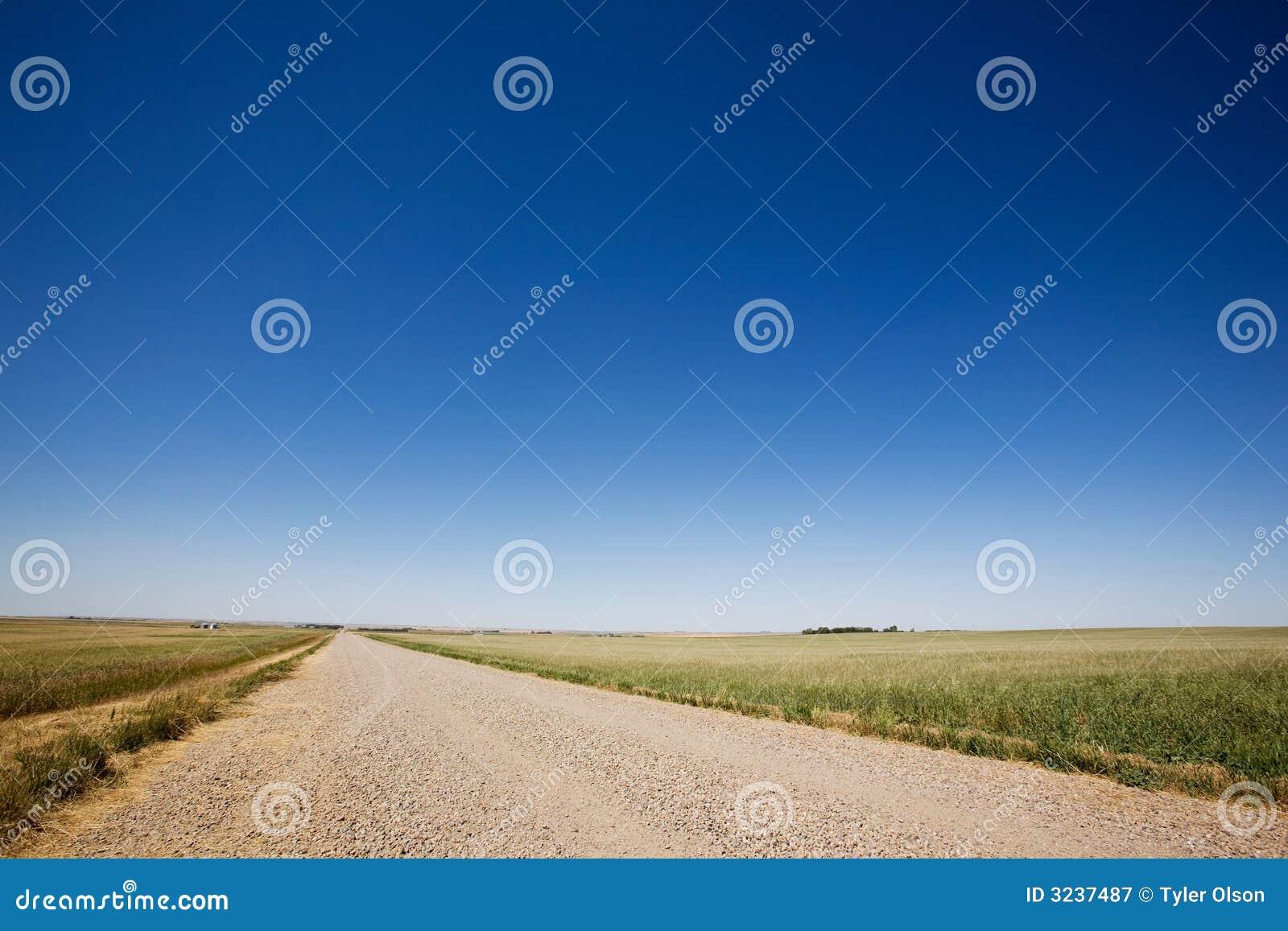 Prairie Gravel Road