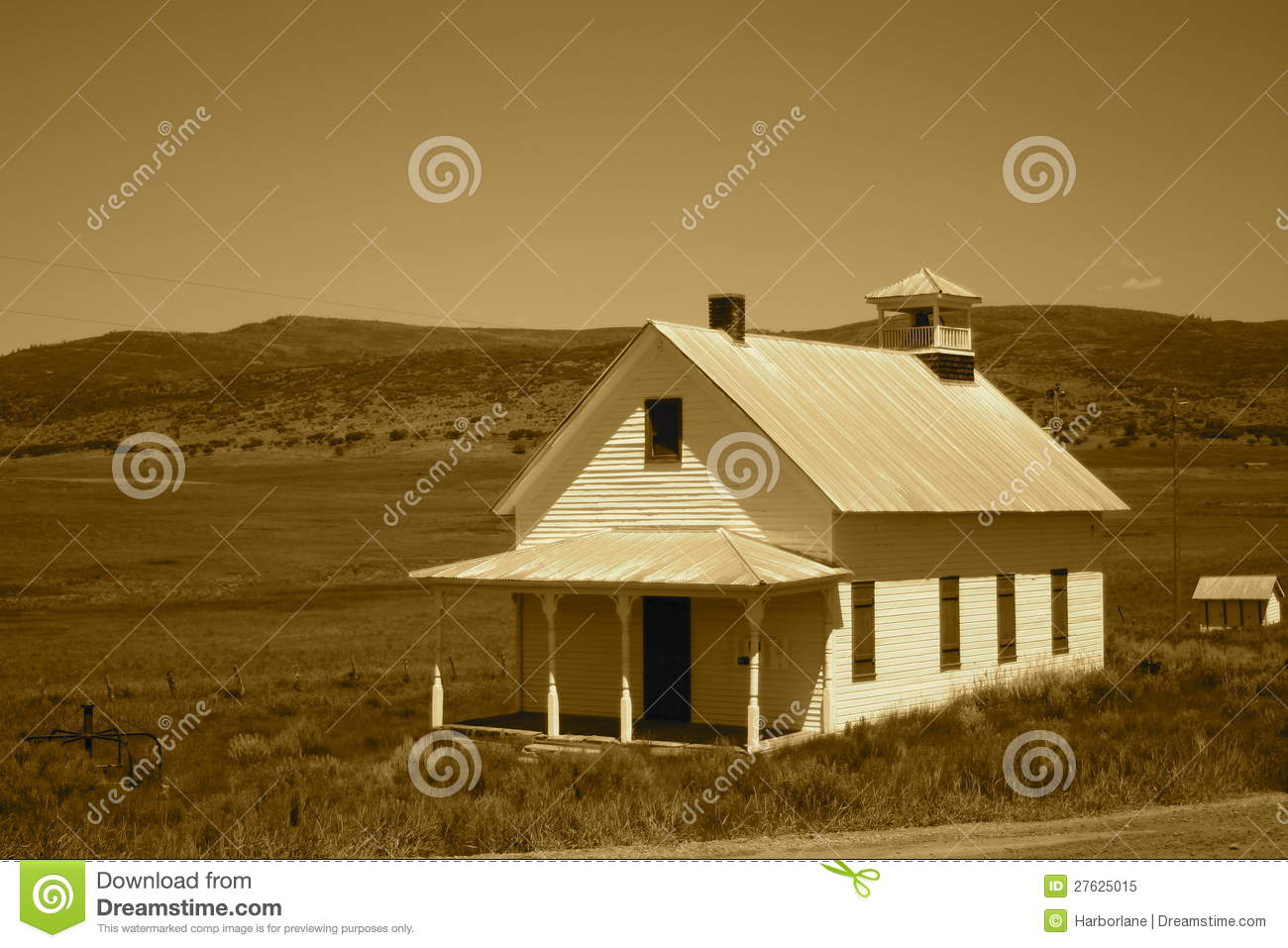 Prairie school house royalty free stock photo image for Prairie school house plans