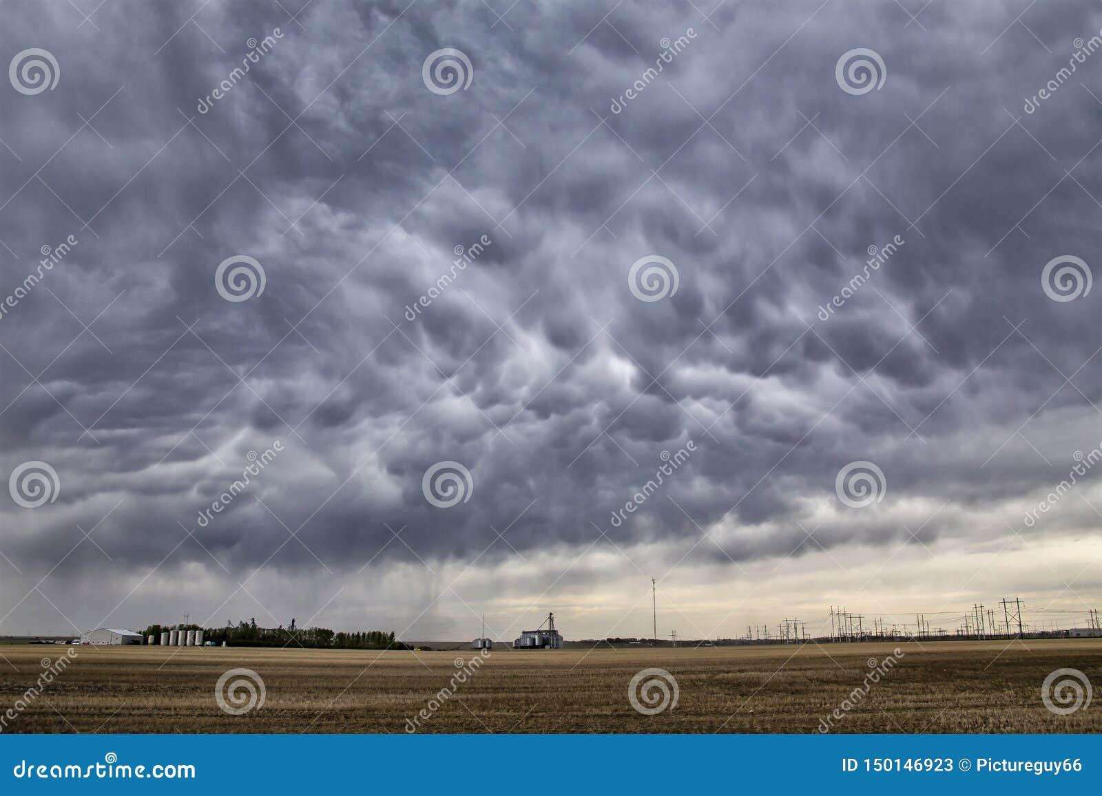 Prairieonweerswolken